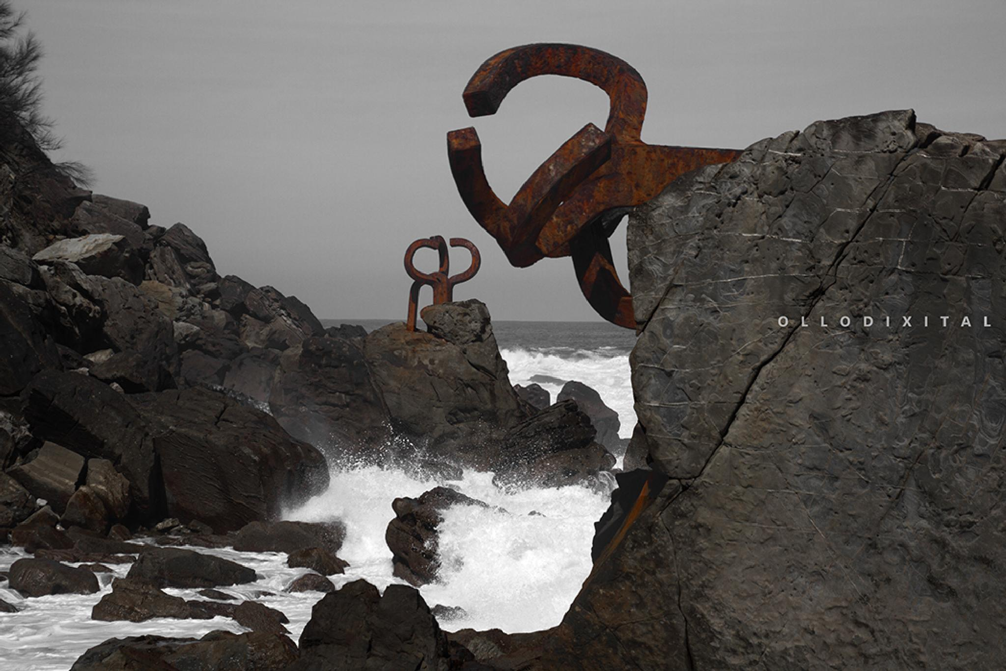 Donostia: Comb of the Winds by OlloDixital