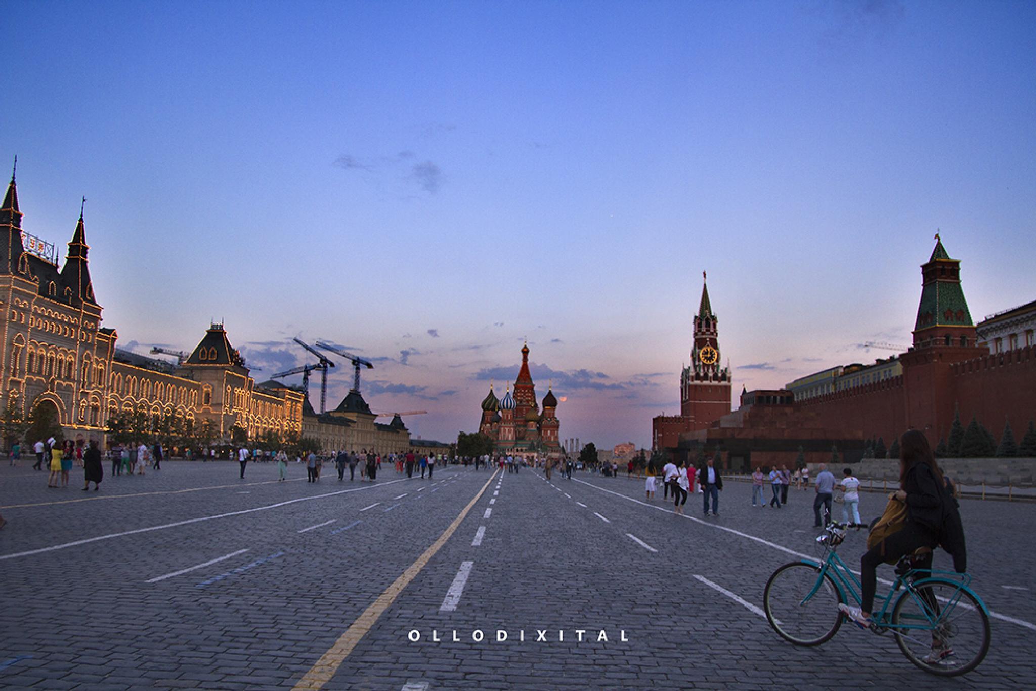 Москва by OlloDixital