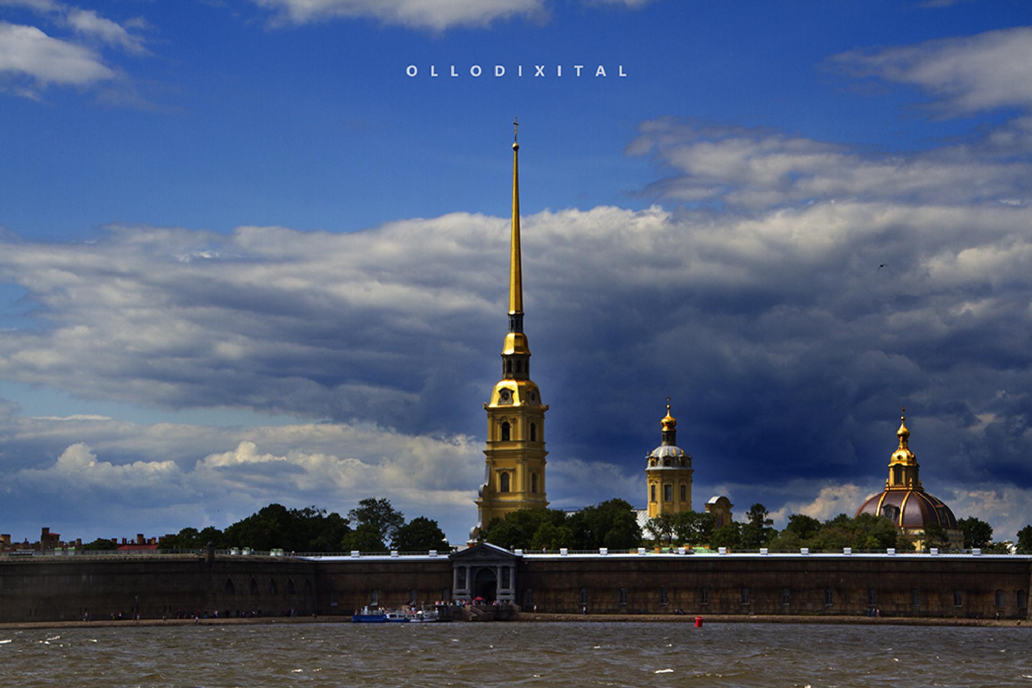 St. Petersburg by OlloDixital