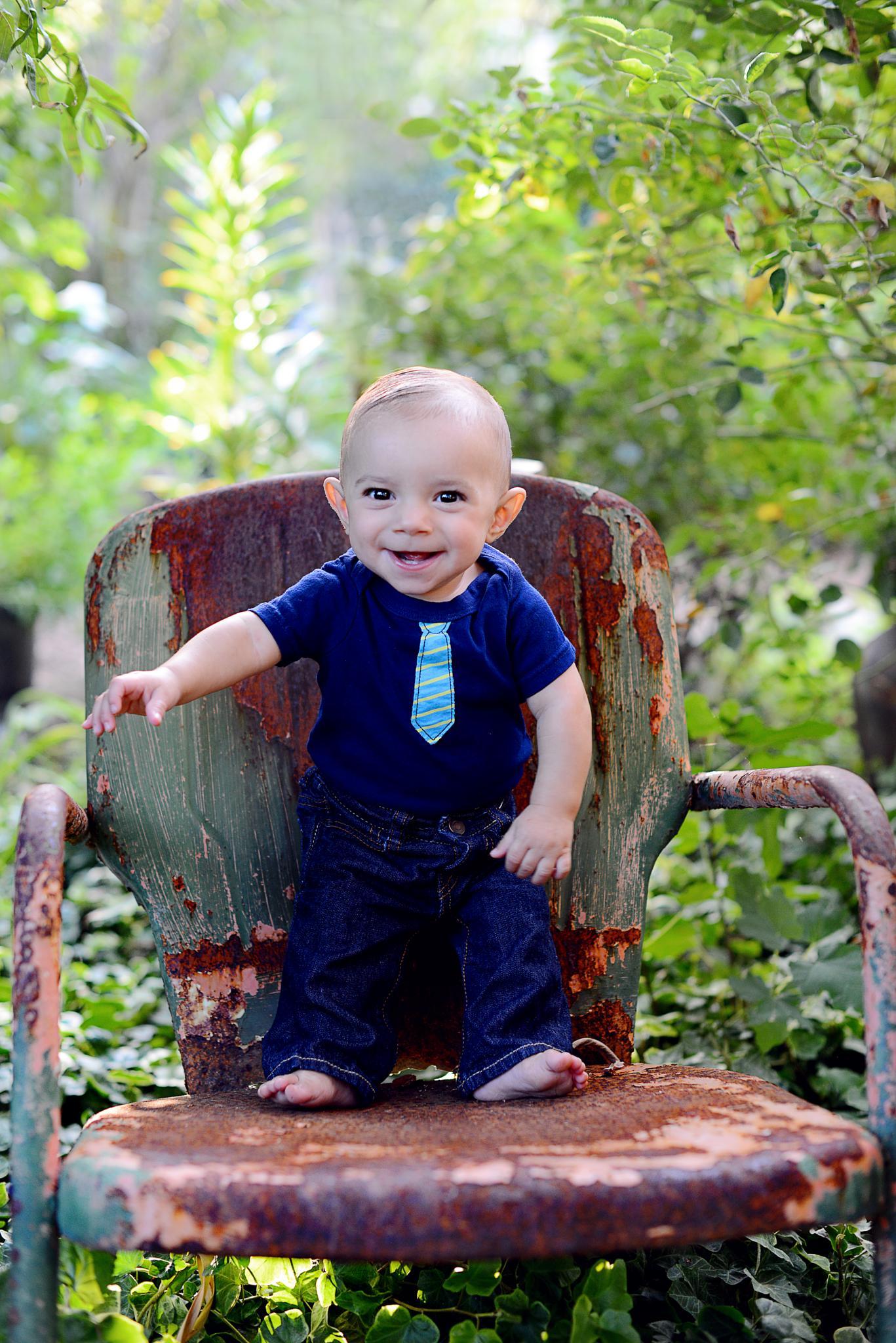 Grayson in the garden..... by Maria Kumlander Photography