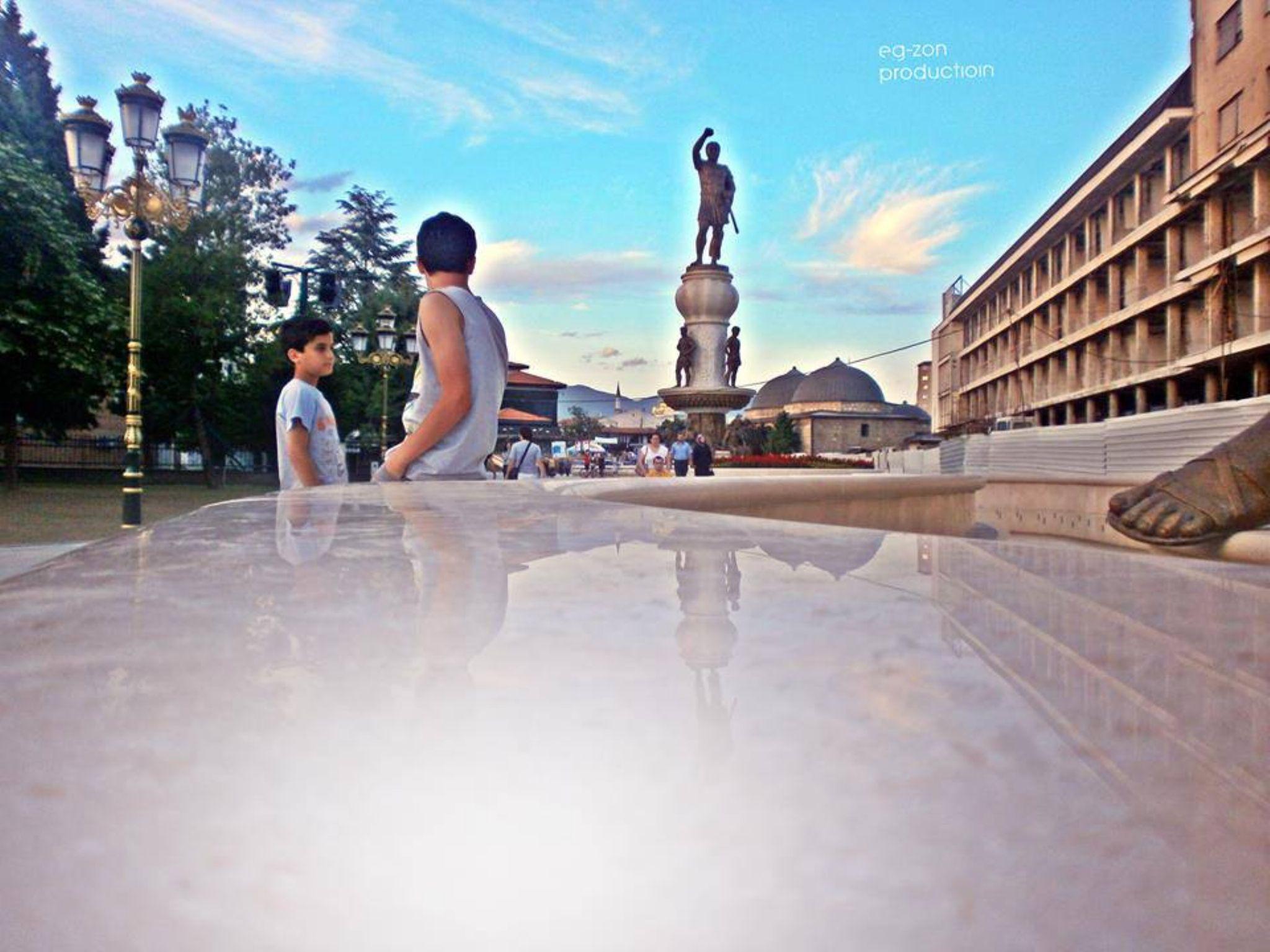 Skopje  by EgzonP Production