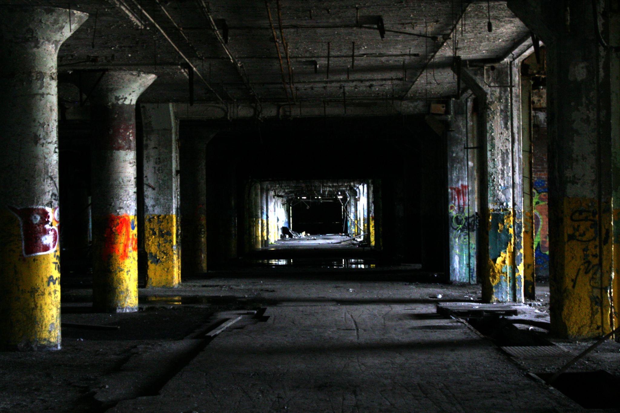 Abandoned Fisher Body Plant 21 Detroit Michigan by jenamayagless