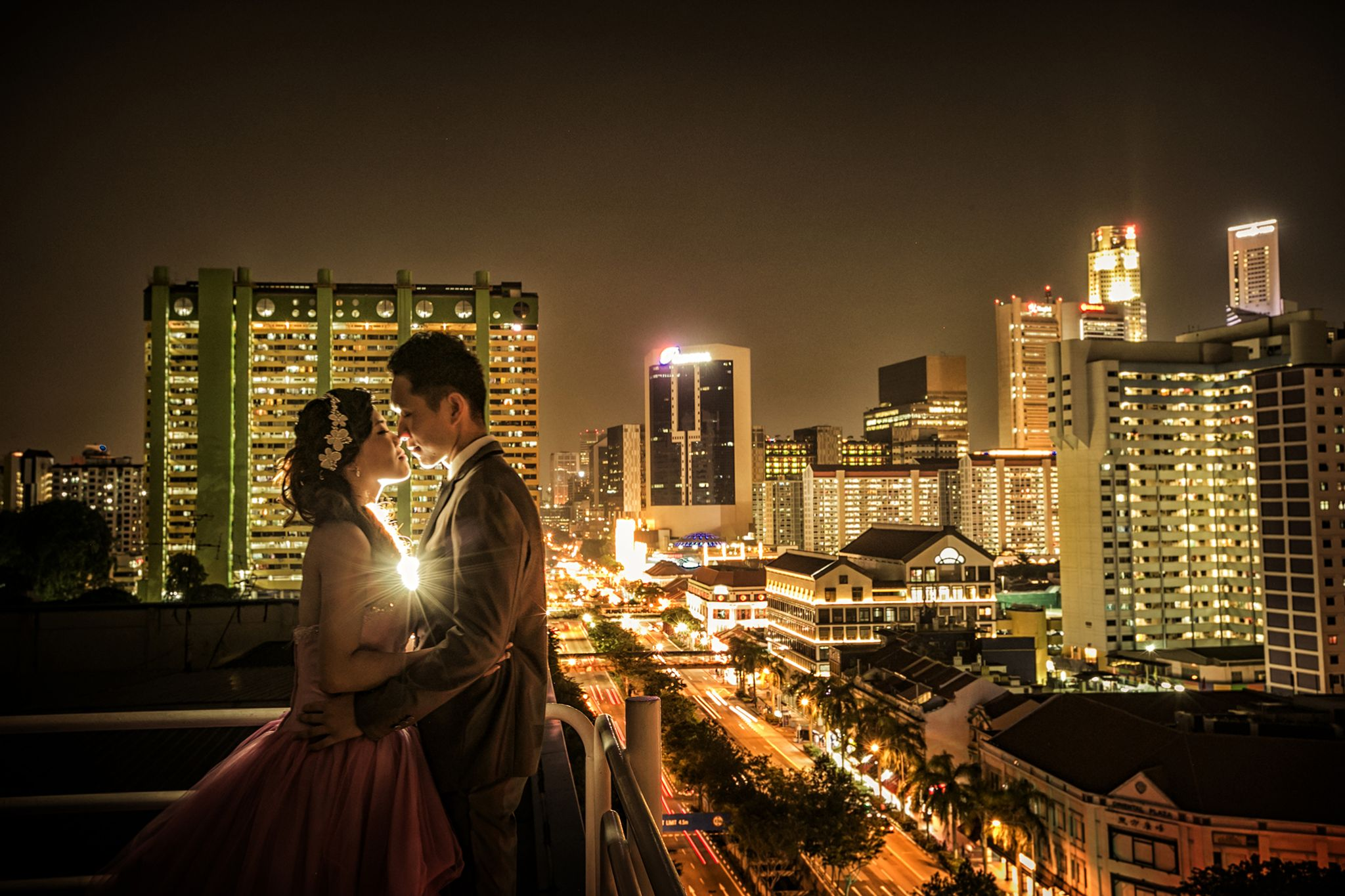 Night in Singapore by LuvAddict photography