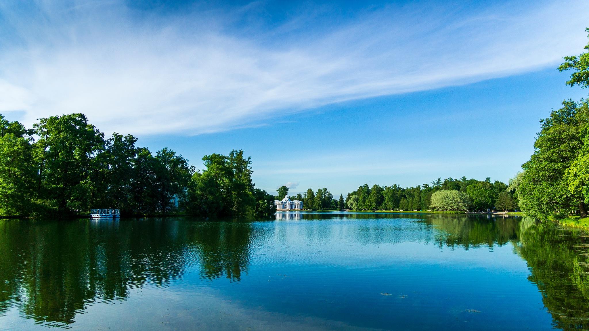 Summer lake by Alik