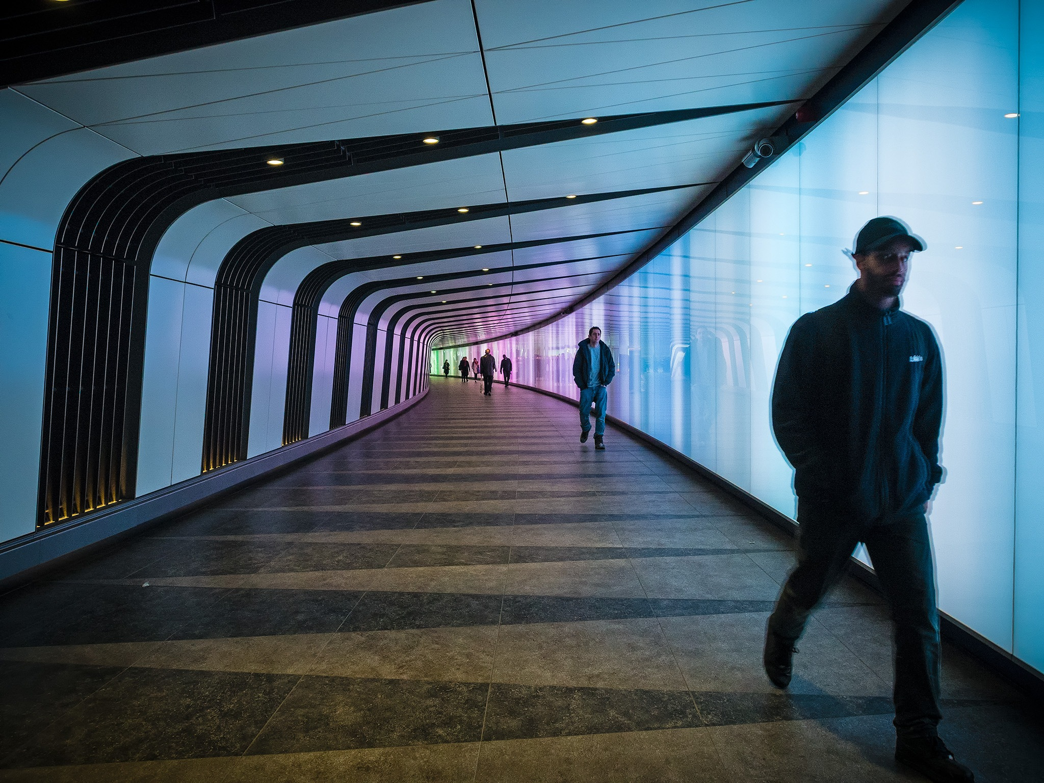 Leaving the tunnel by DavidNorfolk