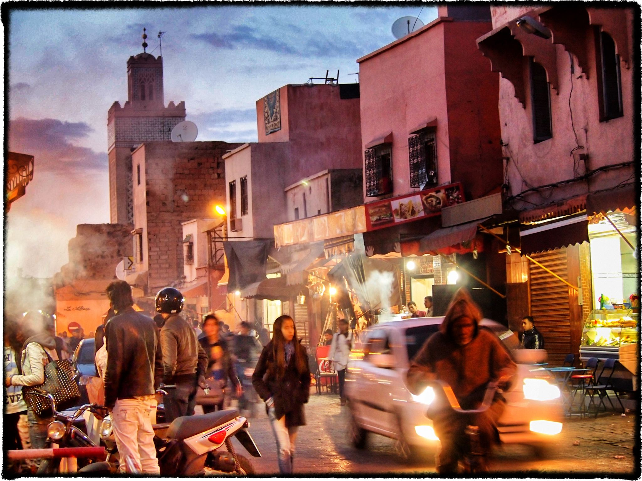Impressions of the Souk at dusk by DavidNorfolk