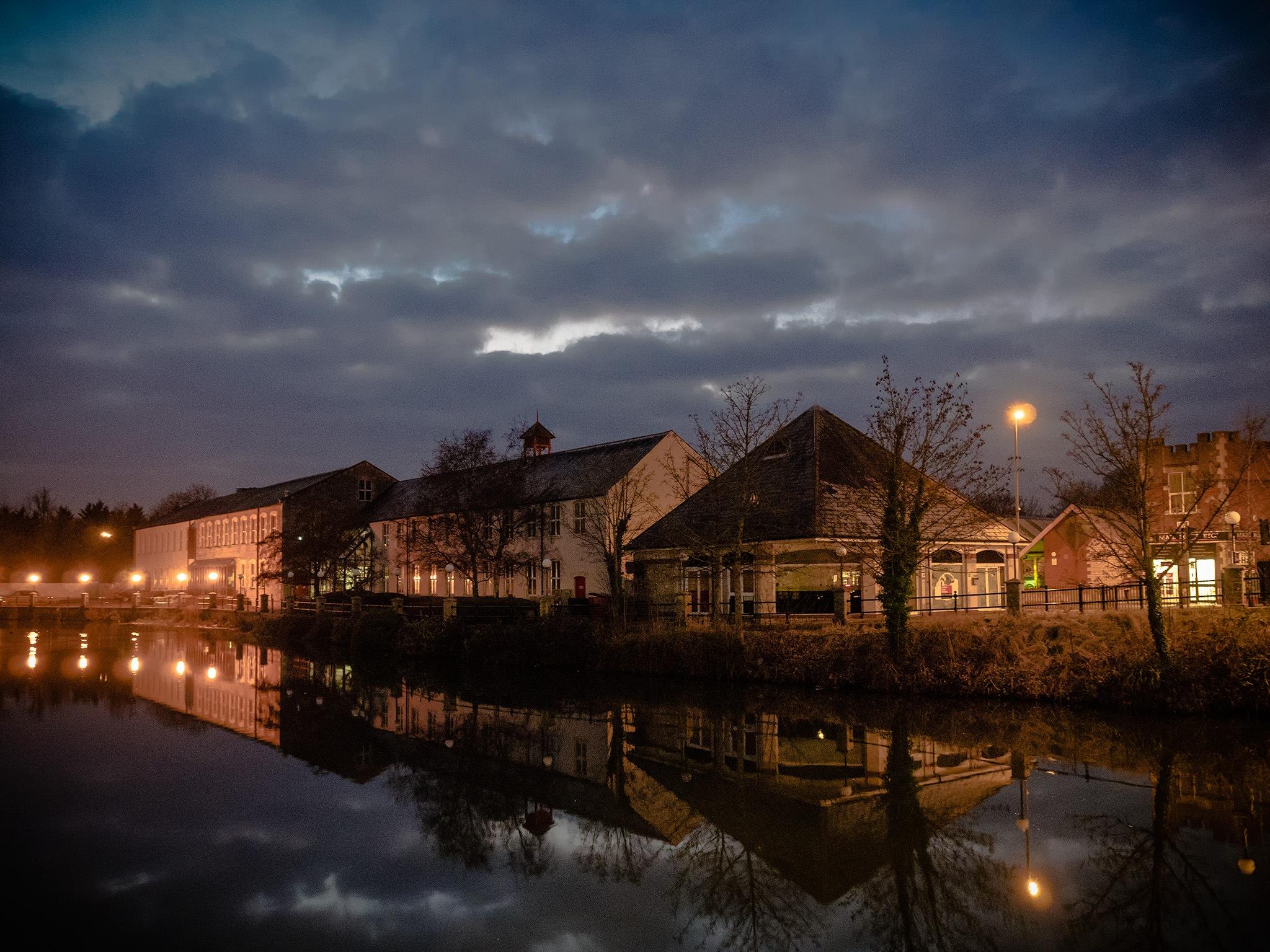 Chippenham at twilight by DavidNorfolk