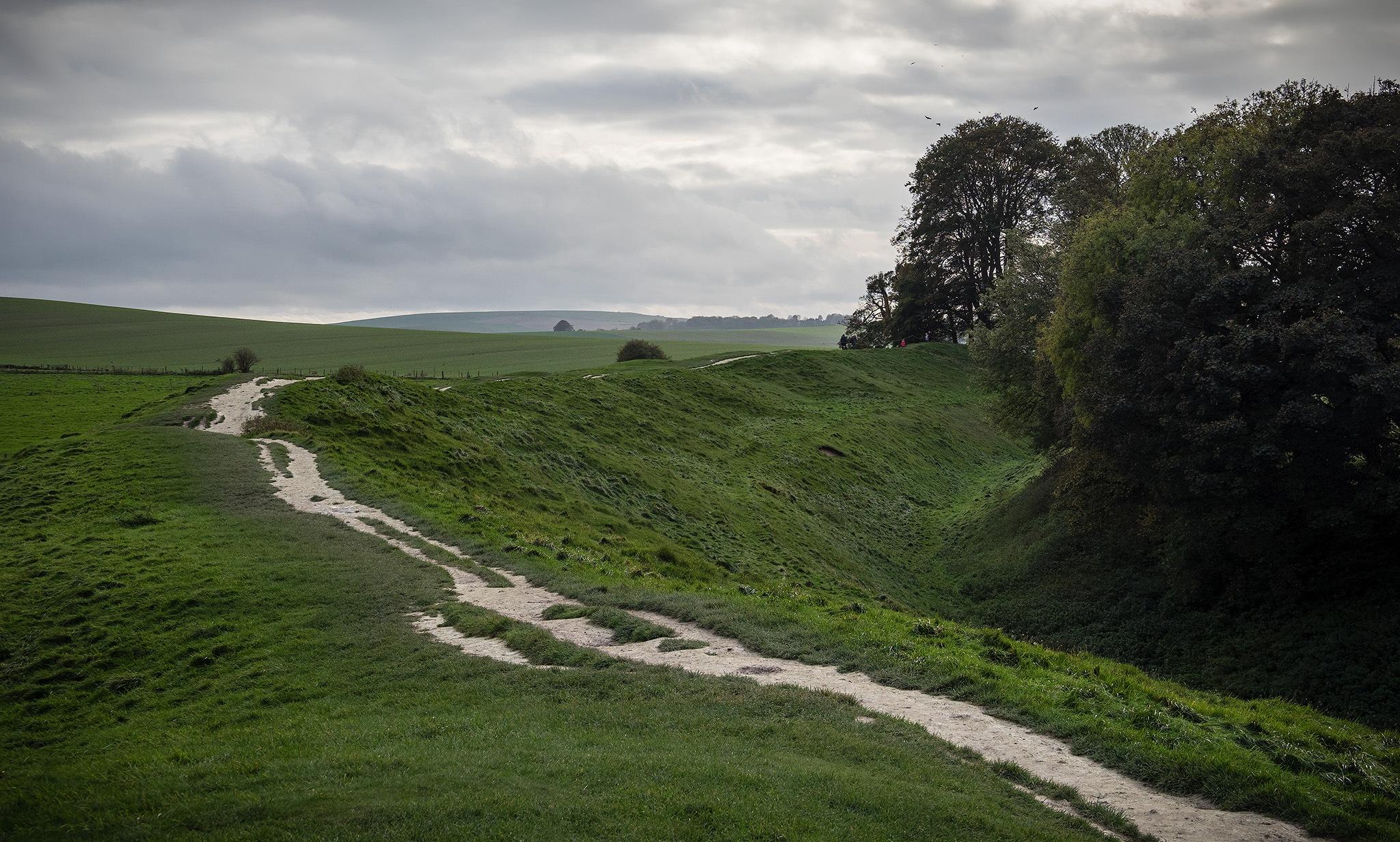 Avebury, magic landscape by DavidNorfolk