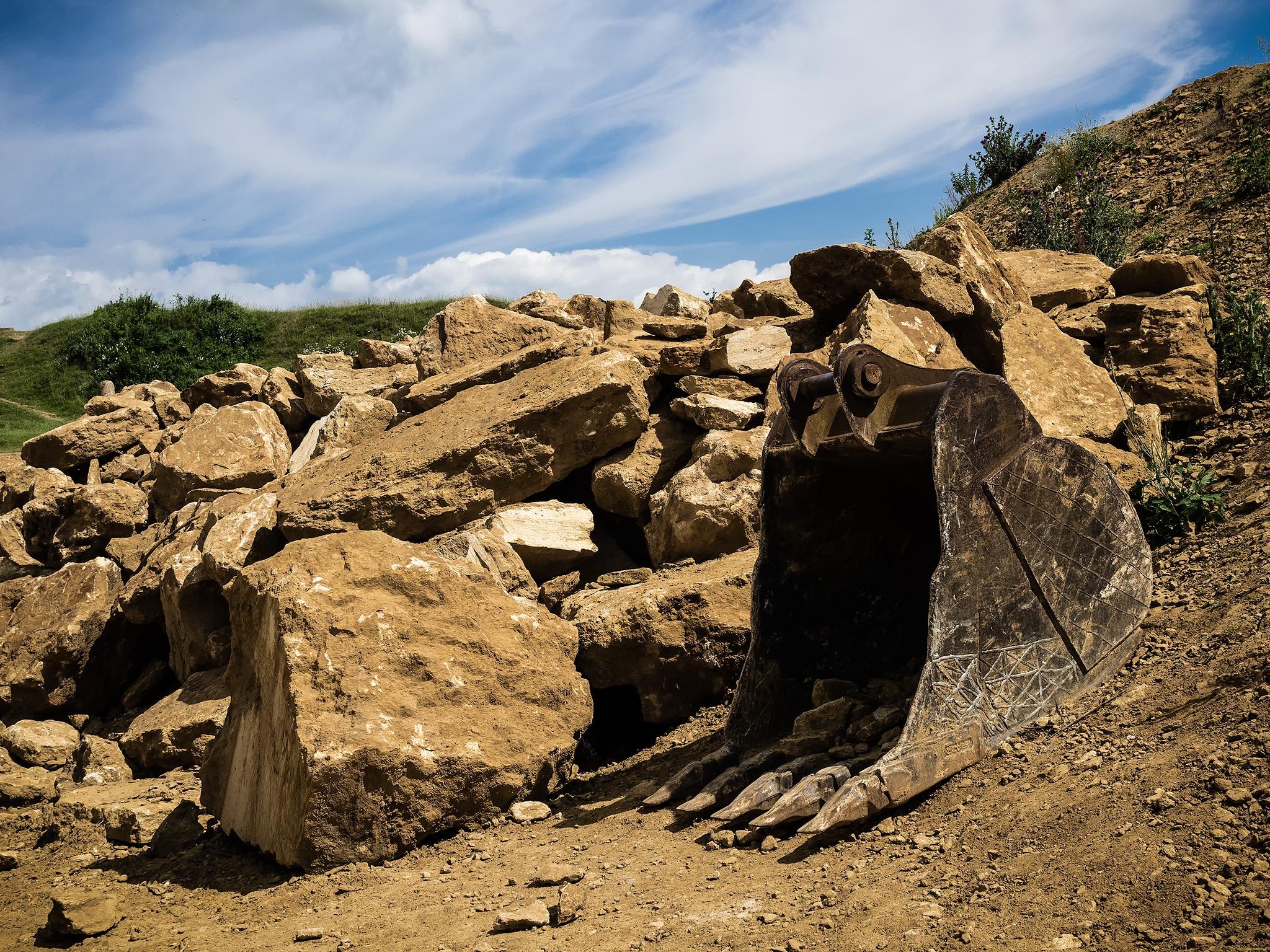 Ham Hill quarry by DavidNorfolk
