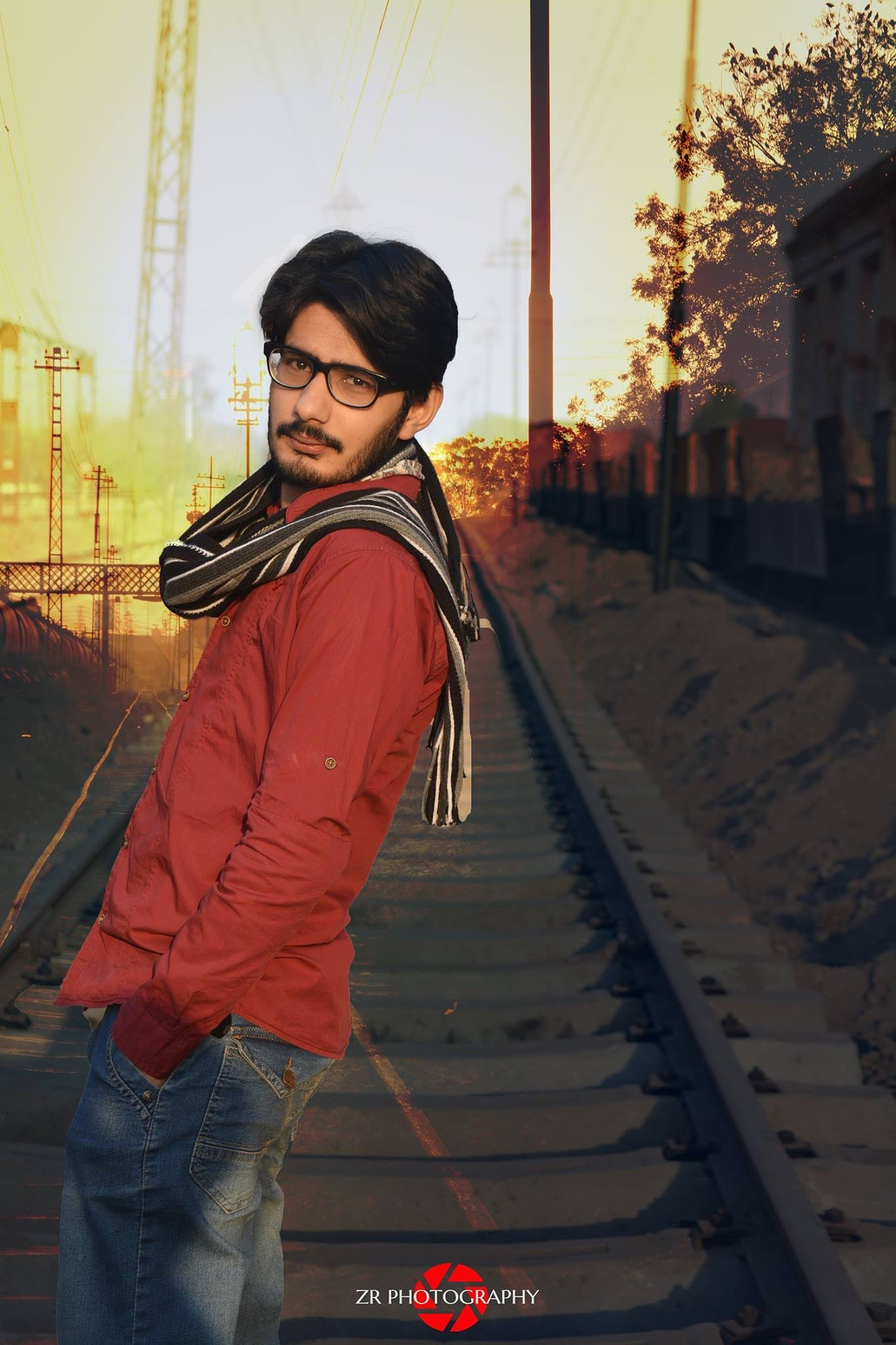 Double exposure a little effect by Syed Zain Raza Zaidi