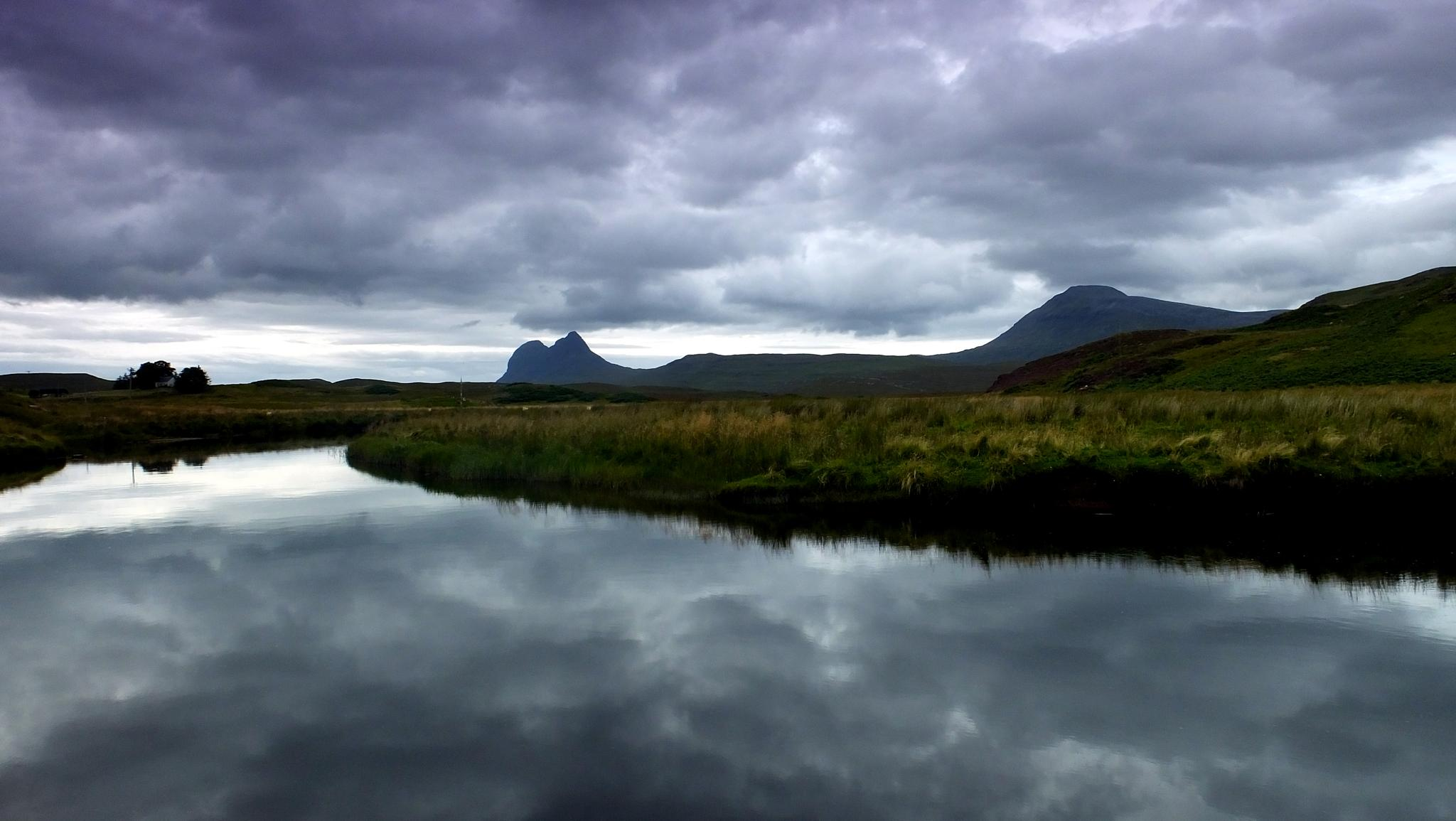 Highland River view, Scotland by WhiteArtPhotography