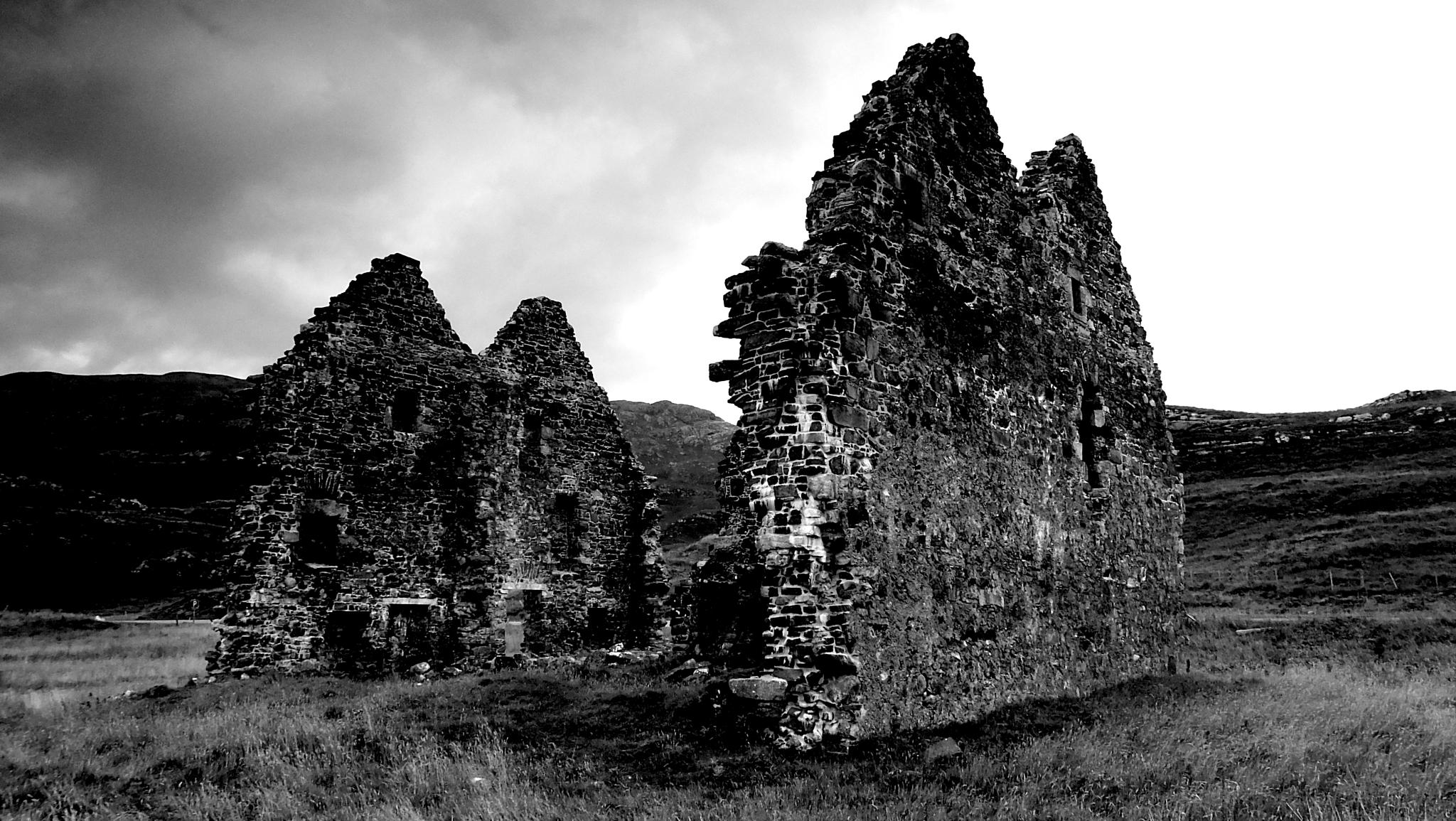 Ruins, Highlands, Scotland. by WhiteArtPhotography