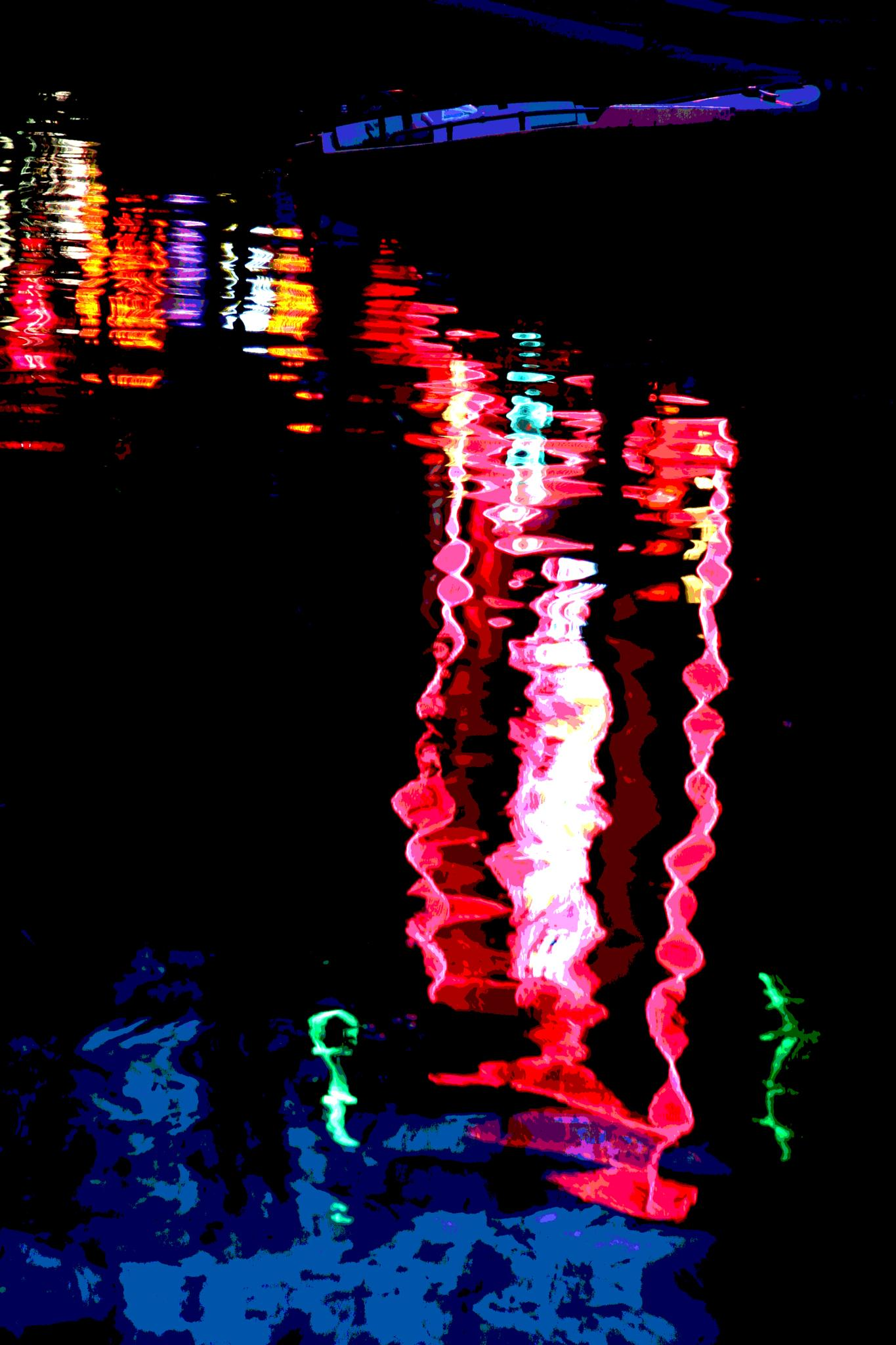 Reflections ( Redlight District, Amsterdam) by WhiteArtPhotography