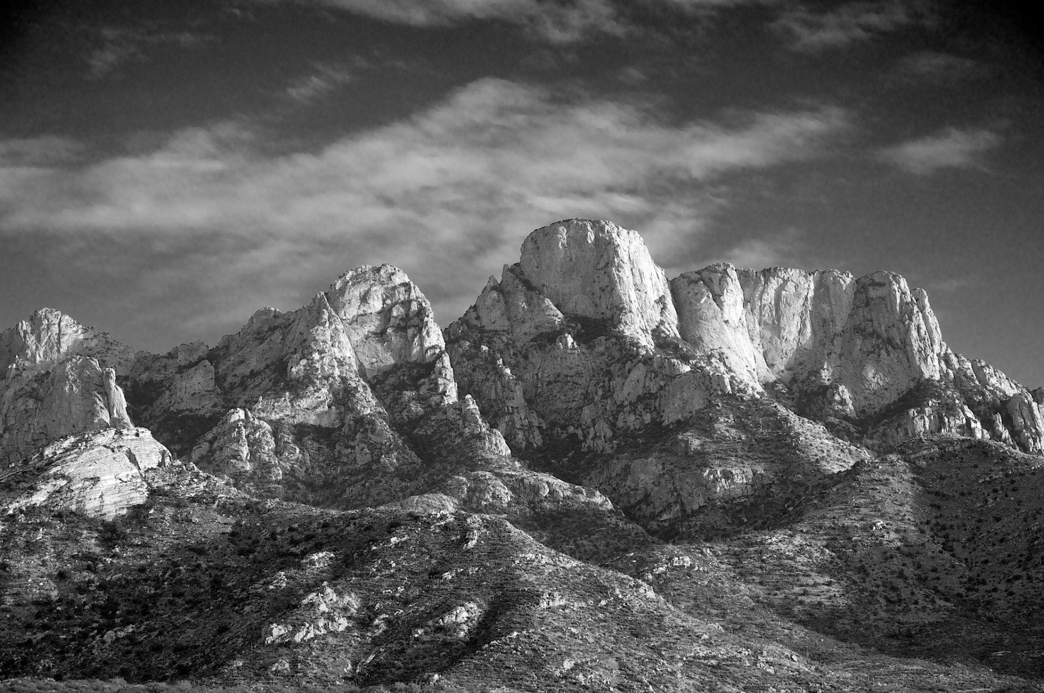 Catalina Mountains by Jim Lipschutz