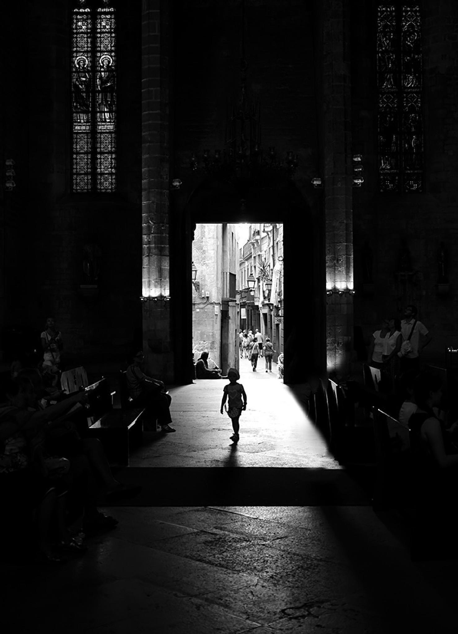 Lost in the church by juanferragut679