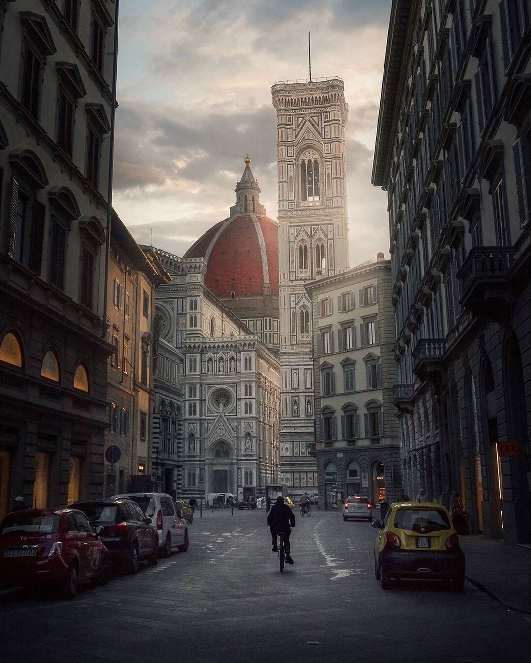 Morning by the Duomo in Florence by Michael Sidofsky