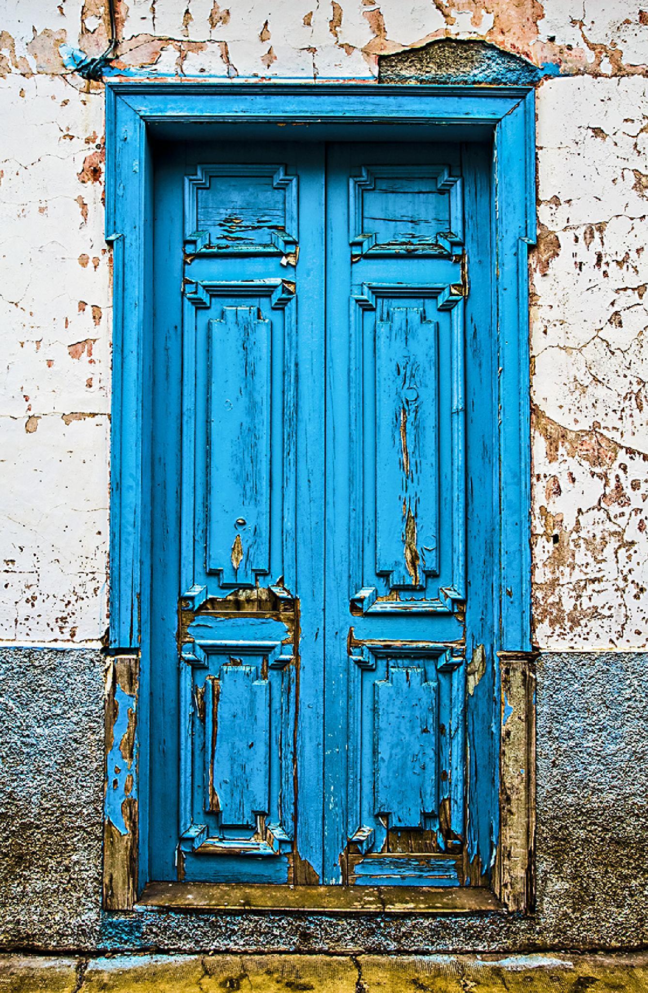 Azure Door by Andrea Pasqualato