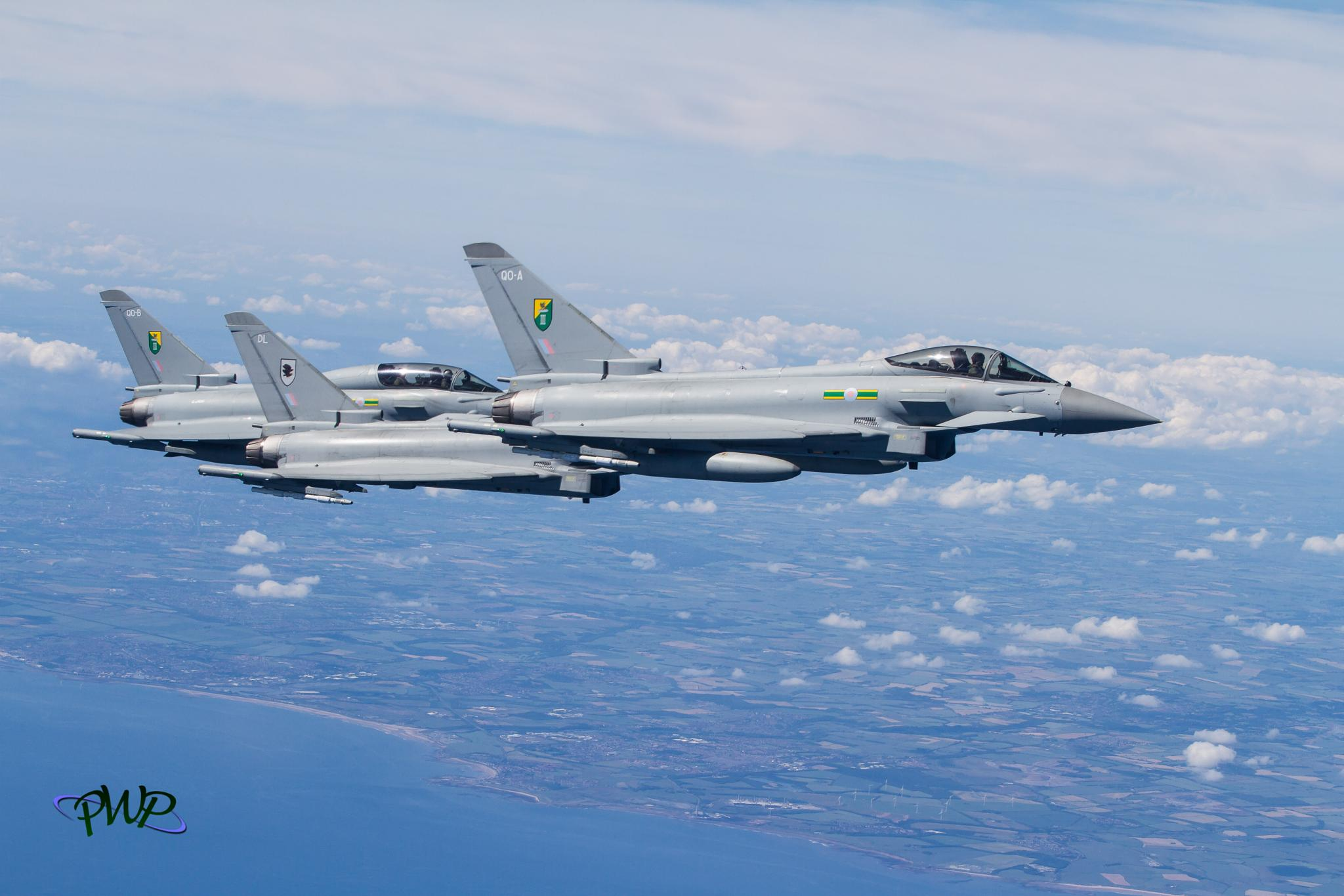 Typhoons arriving for fuel by peter.worth2