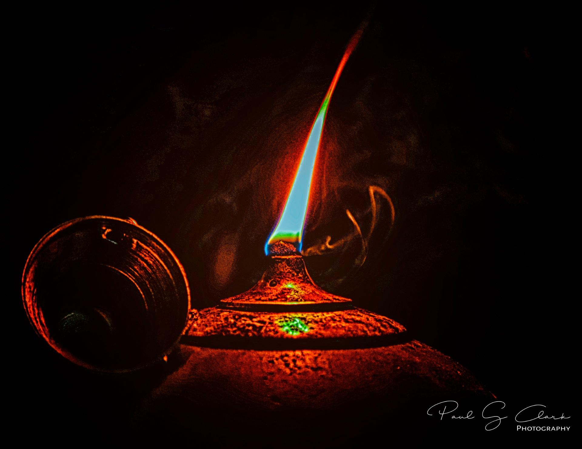 Magic Lamp by Paul G Clark