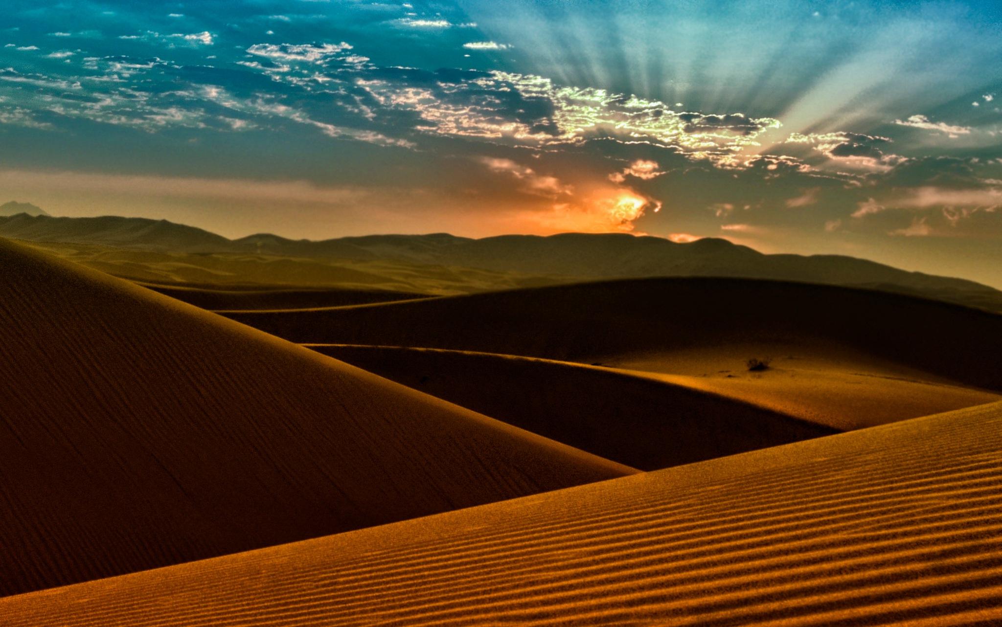 Maranjab desert by HamedEsmaeili
