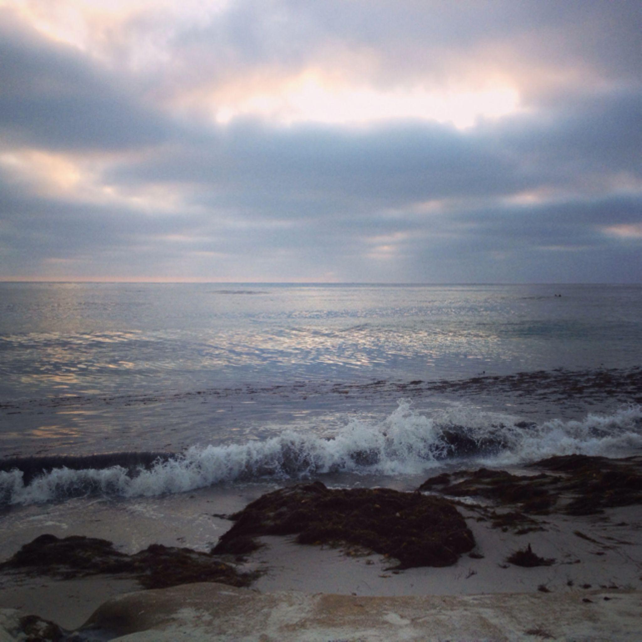 Marine Street Beach sunset  by veronica.h.lehmann