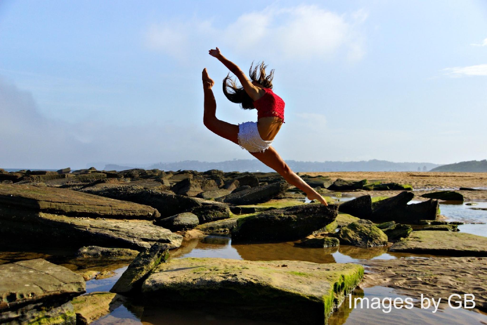 Photo in Portrait #dancer #beach #freedom