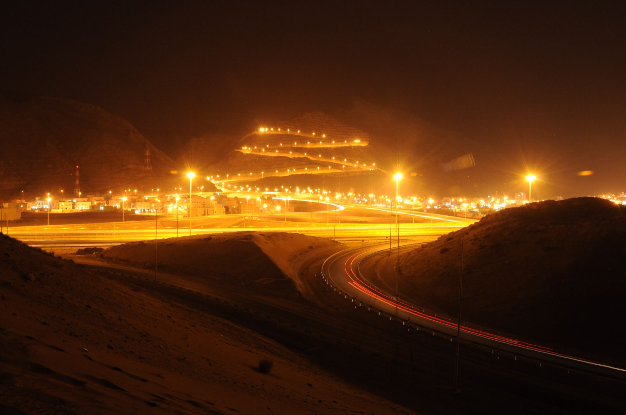 Road lights by jao.abenoja