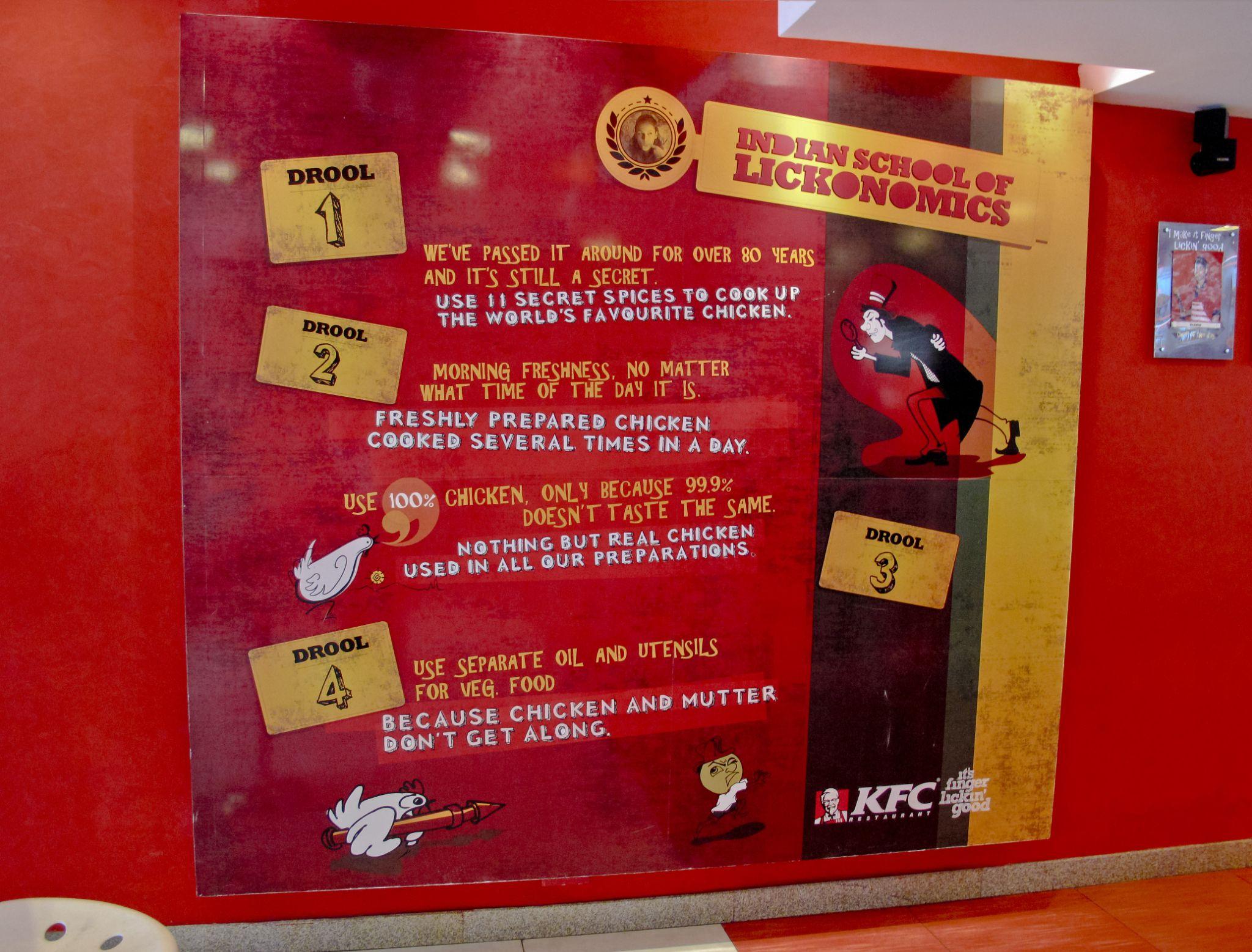 kfc's indian school of lickonomics by Victor Kam