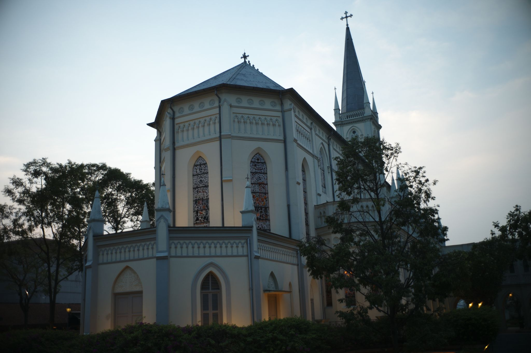 Cathedral @ the Convent of the Holy Infant Jesus by Victor Kam