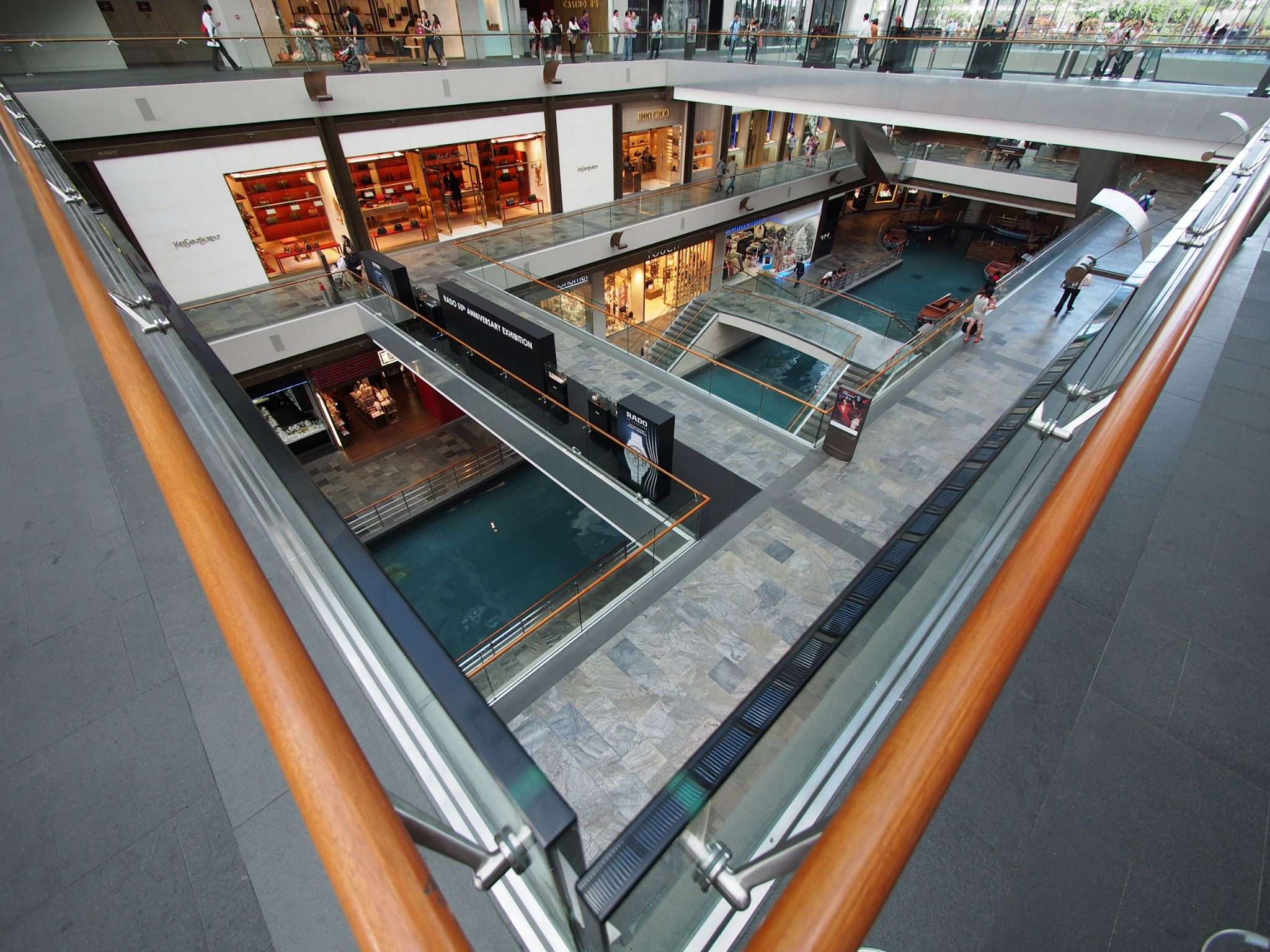 the shoppes at mbs by Victor Kam