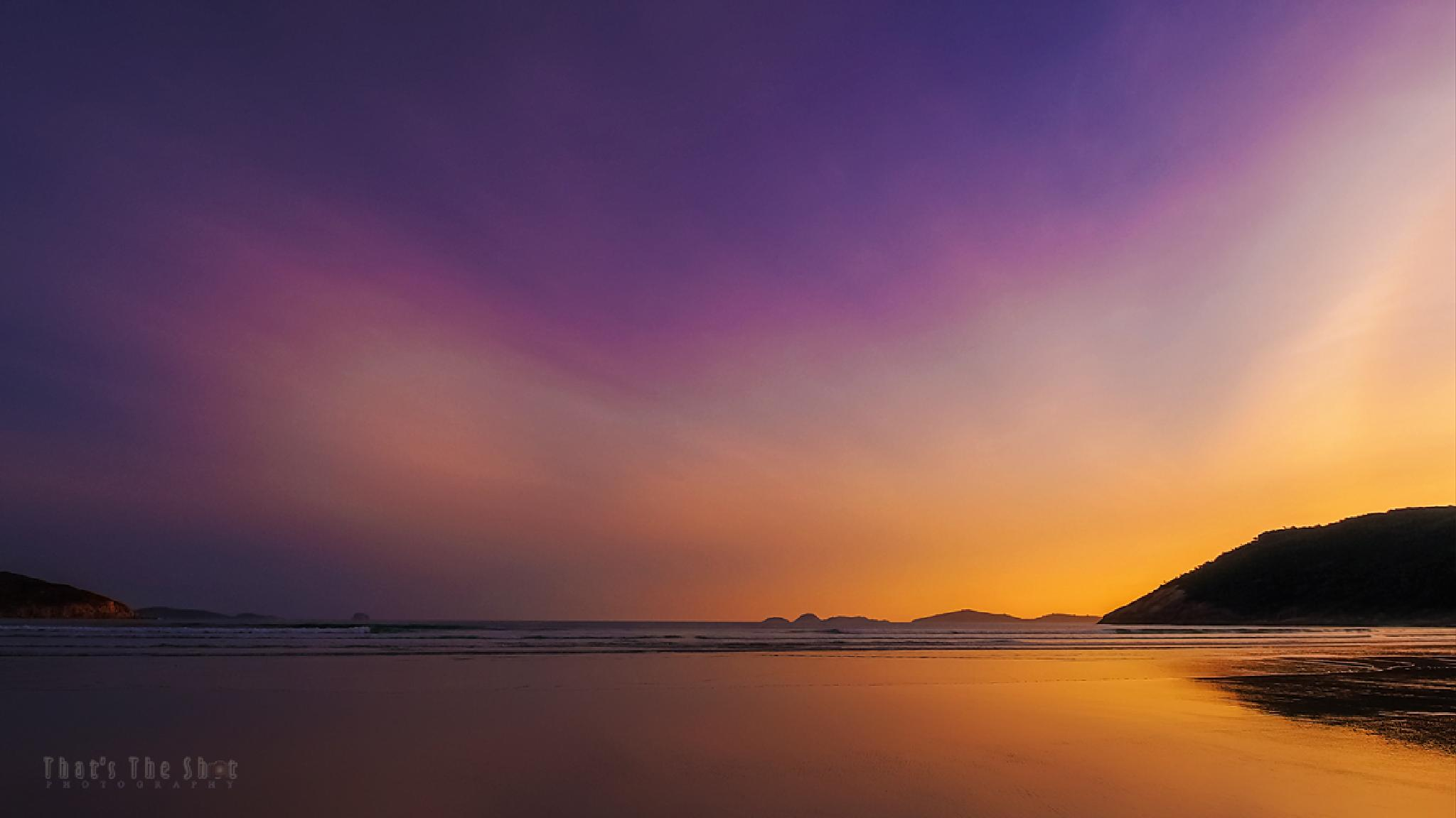 Sunset at Wilsons Prom by ThatsTheShot