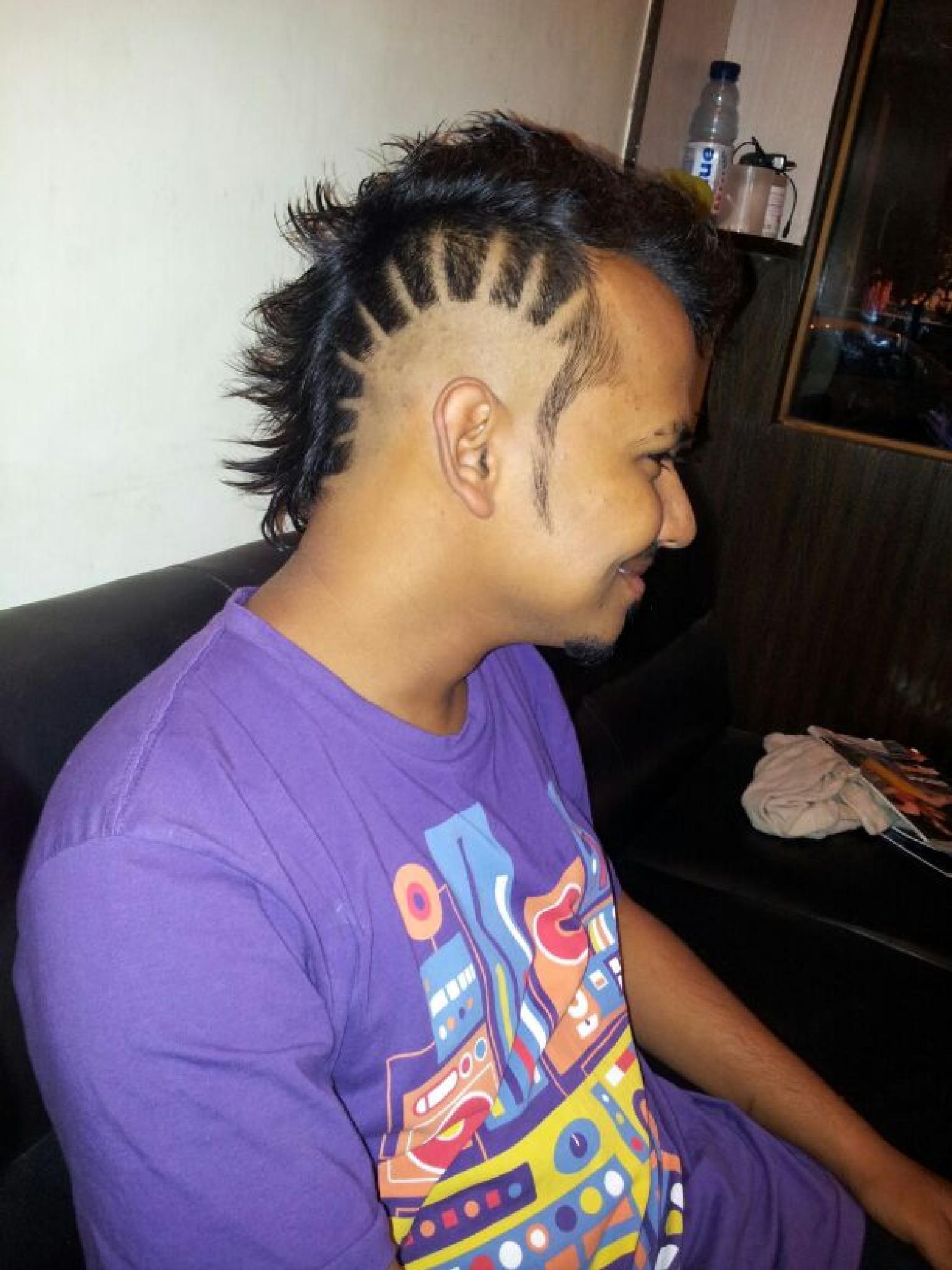 hair style by Ankush Kumar Paliyal