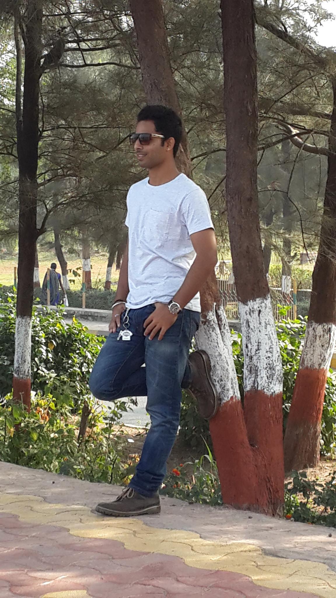 pose by Ankush Kumar Paliyal