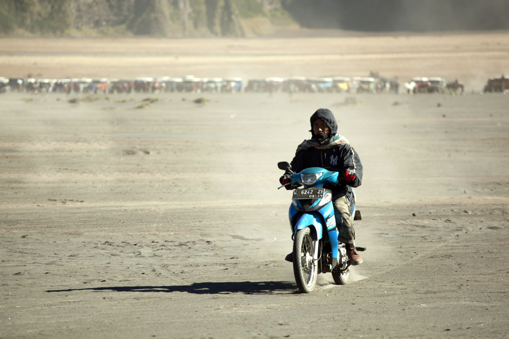 motorcycles in Mount Bromo by ismarley.marley