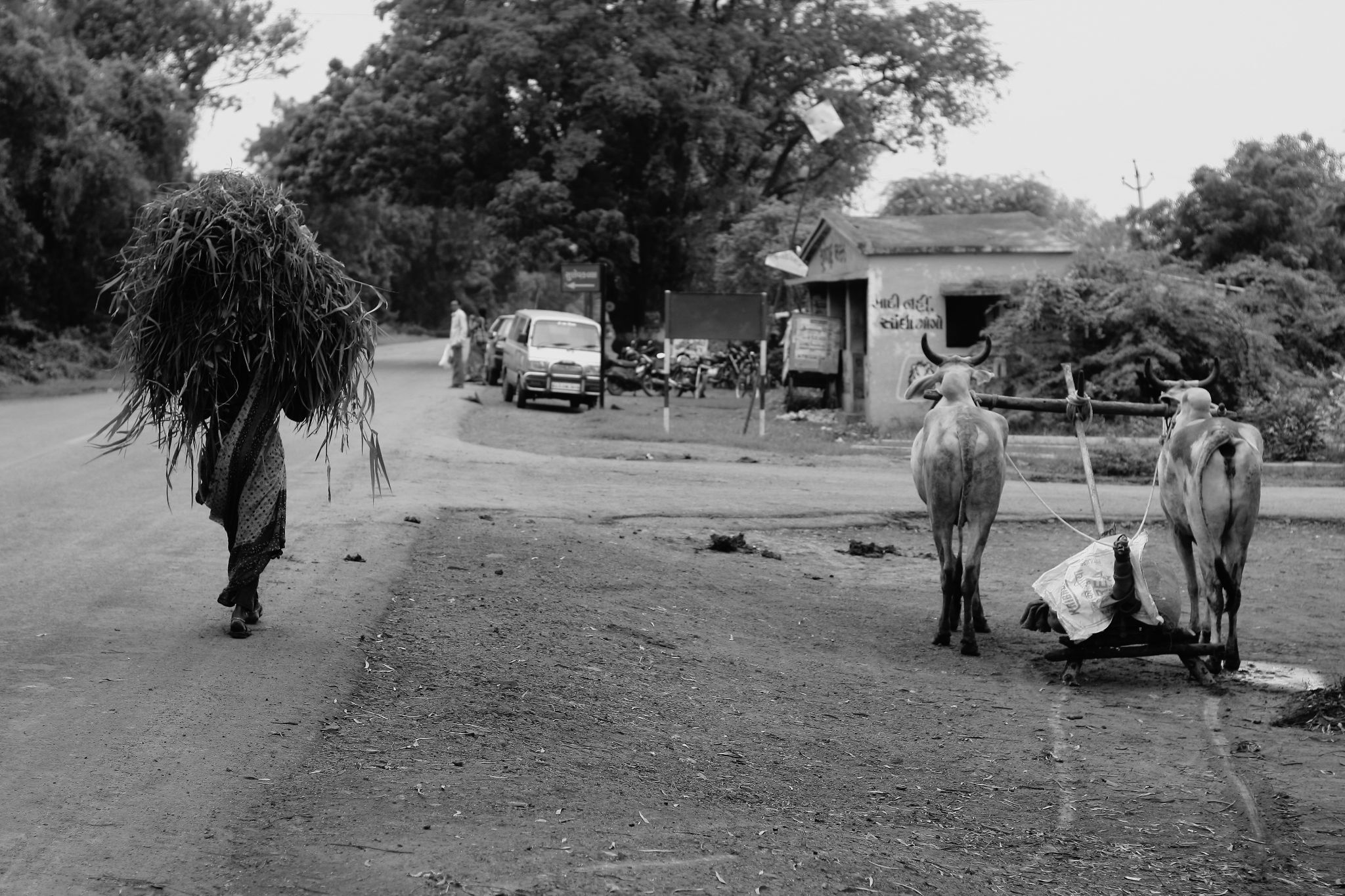 on the road by AyyaluRKumaran