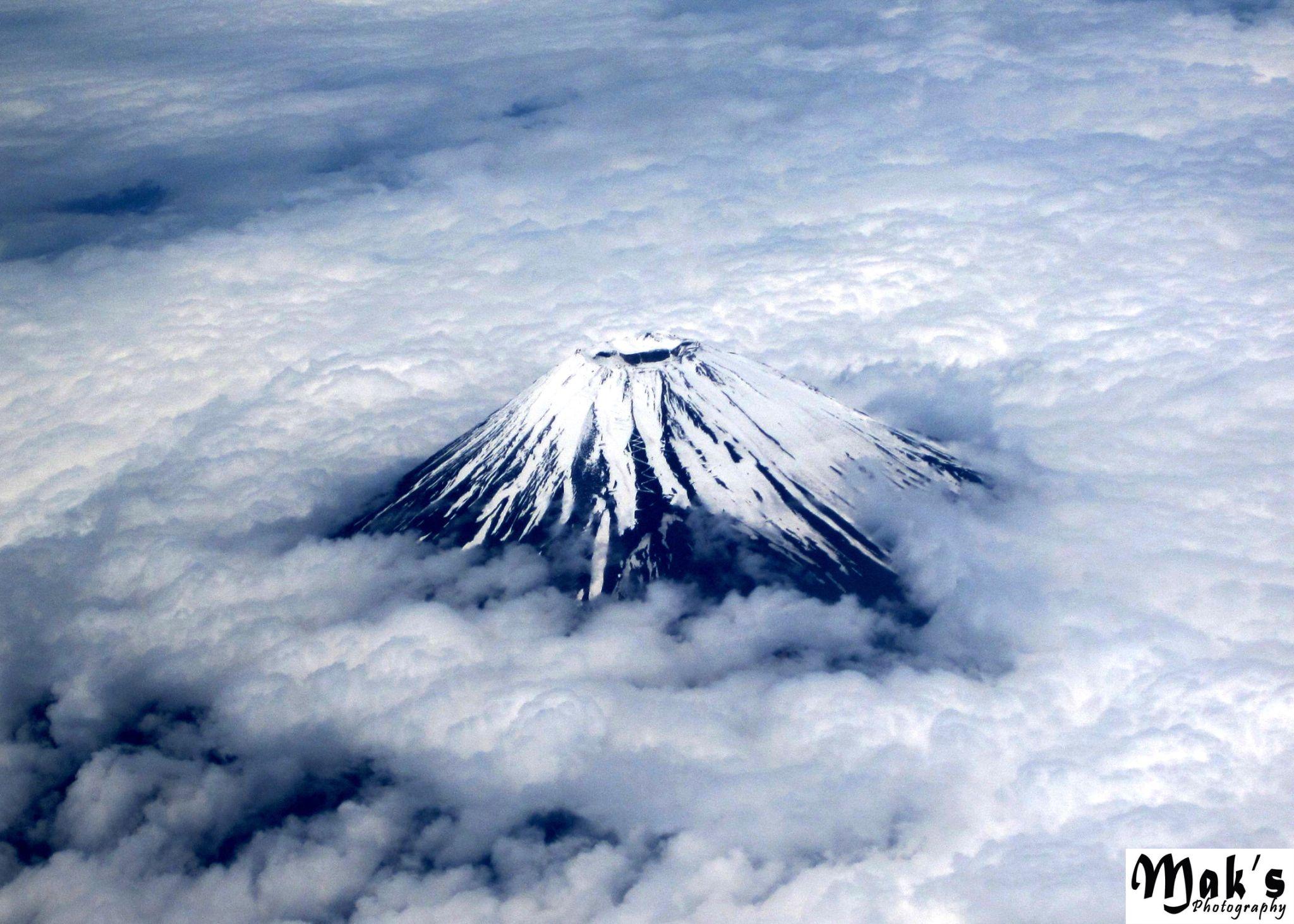 Mount Fuji (Fuji San), Japan by MAK Azad, Ph.D