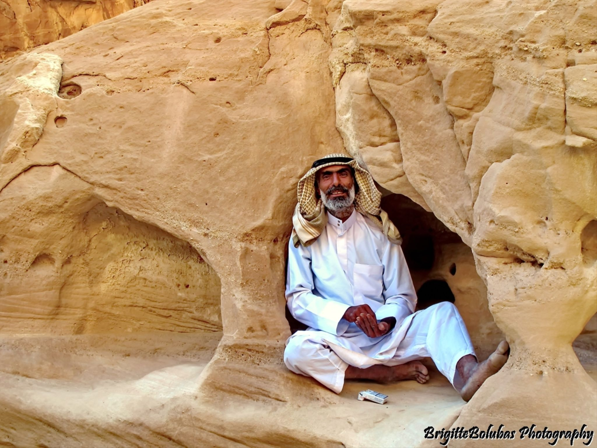 Beduin man by LiliomToursBrigitta
