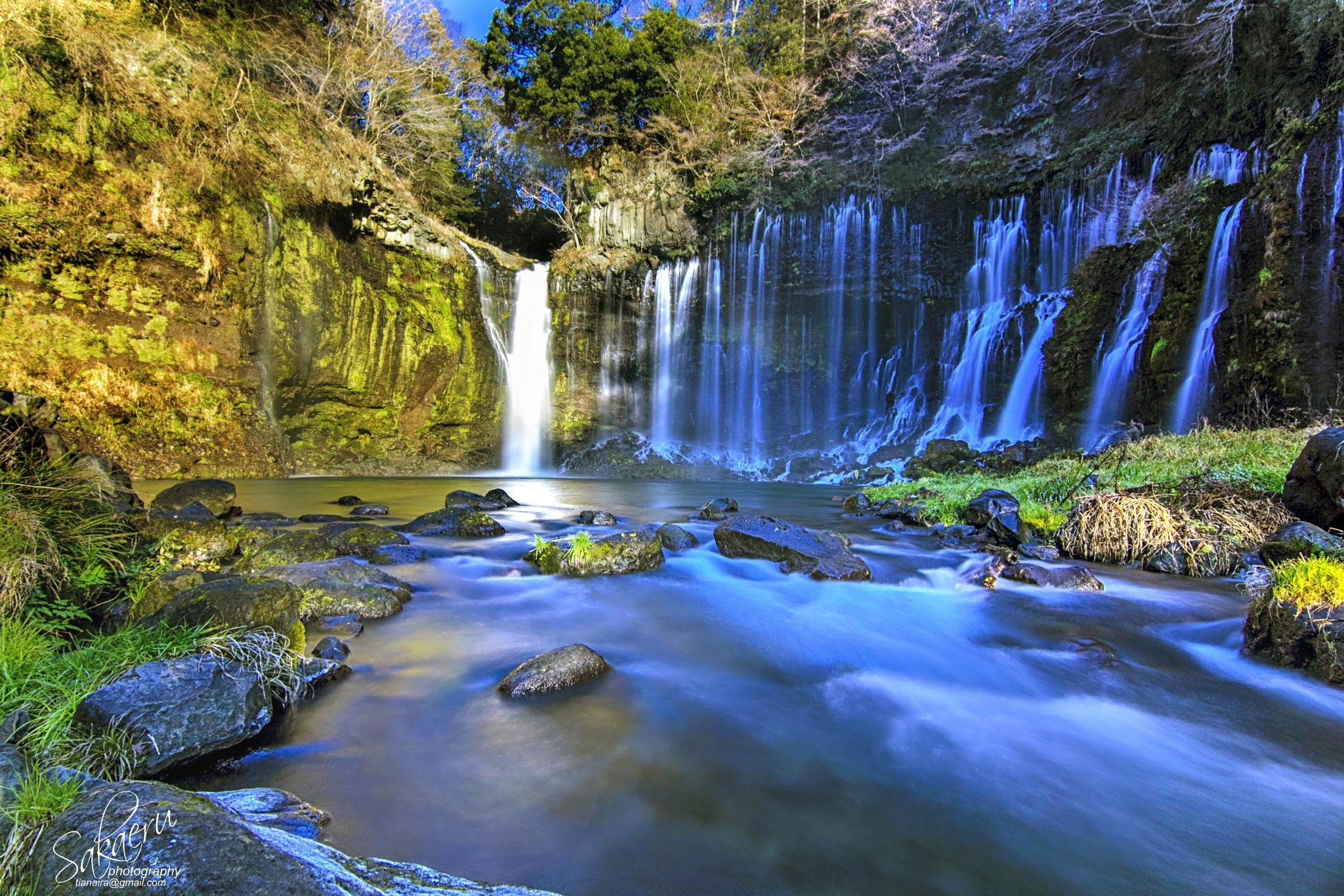 Shiraito waterfall by IAn Sakaeru
