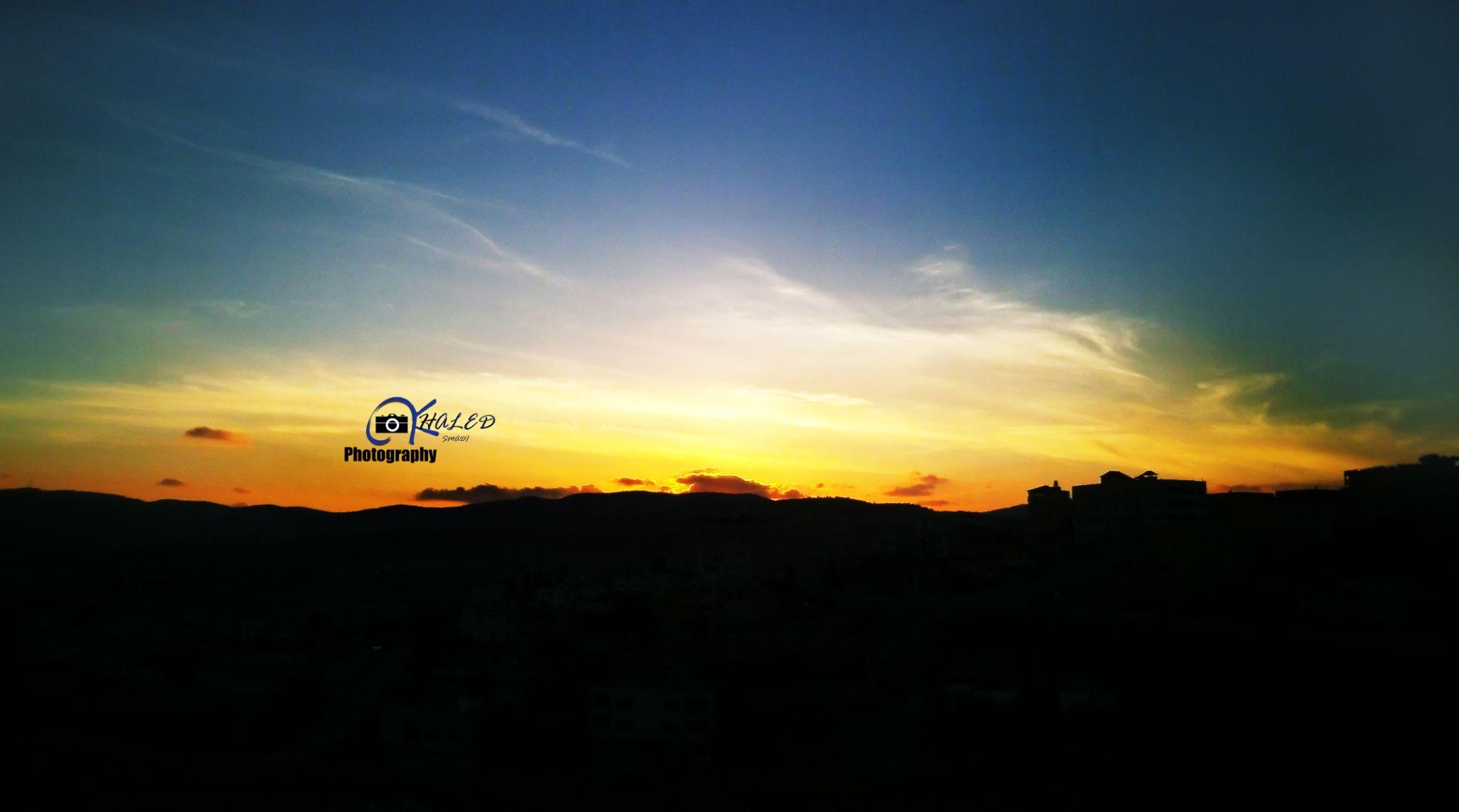 غروب الشمس - الاردن - جرش -6:45م by KHALED SMADI