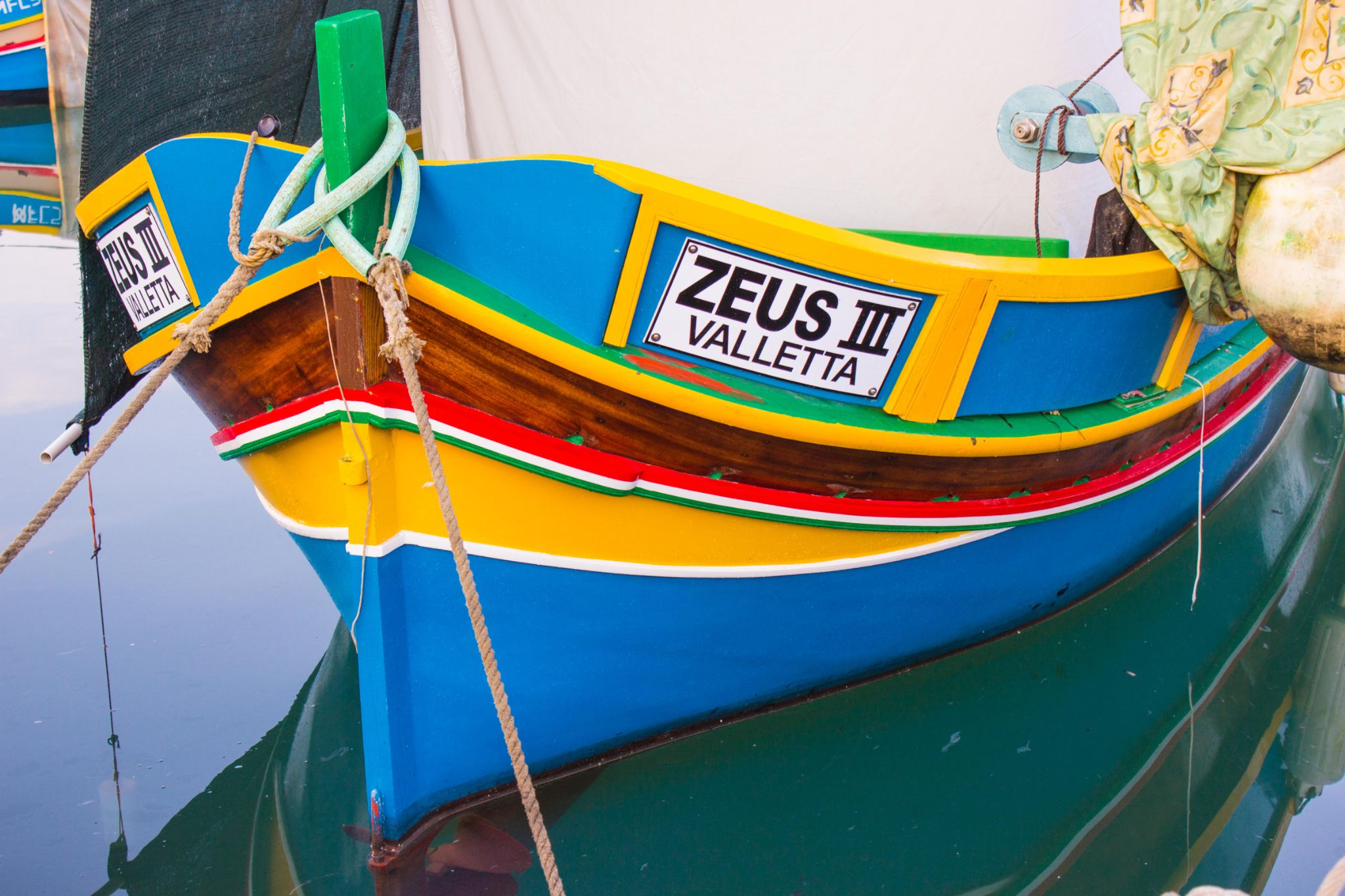 Maltese traditional boat by keith.buhagiar.128