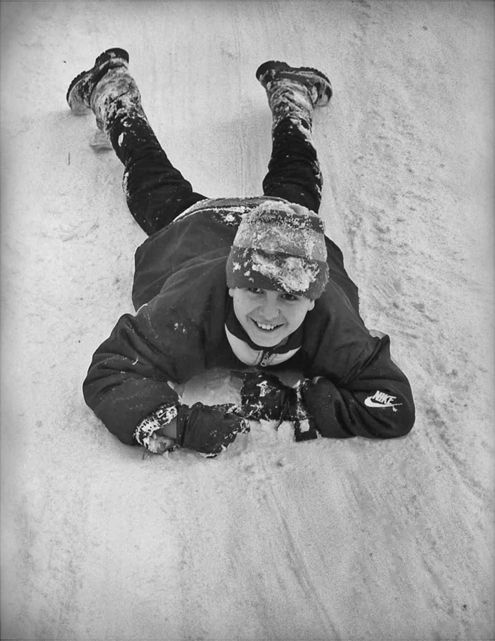 Enjoy the snow by boranfot2