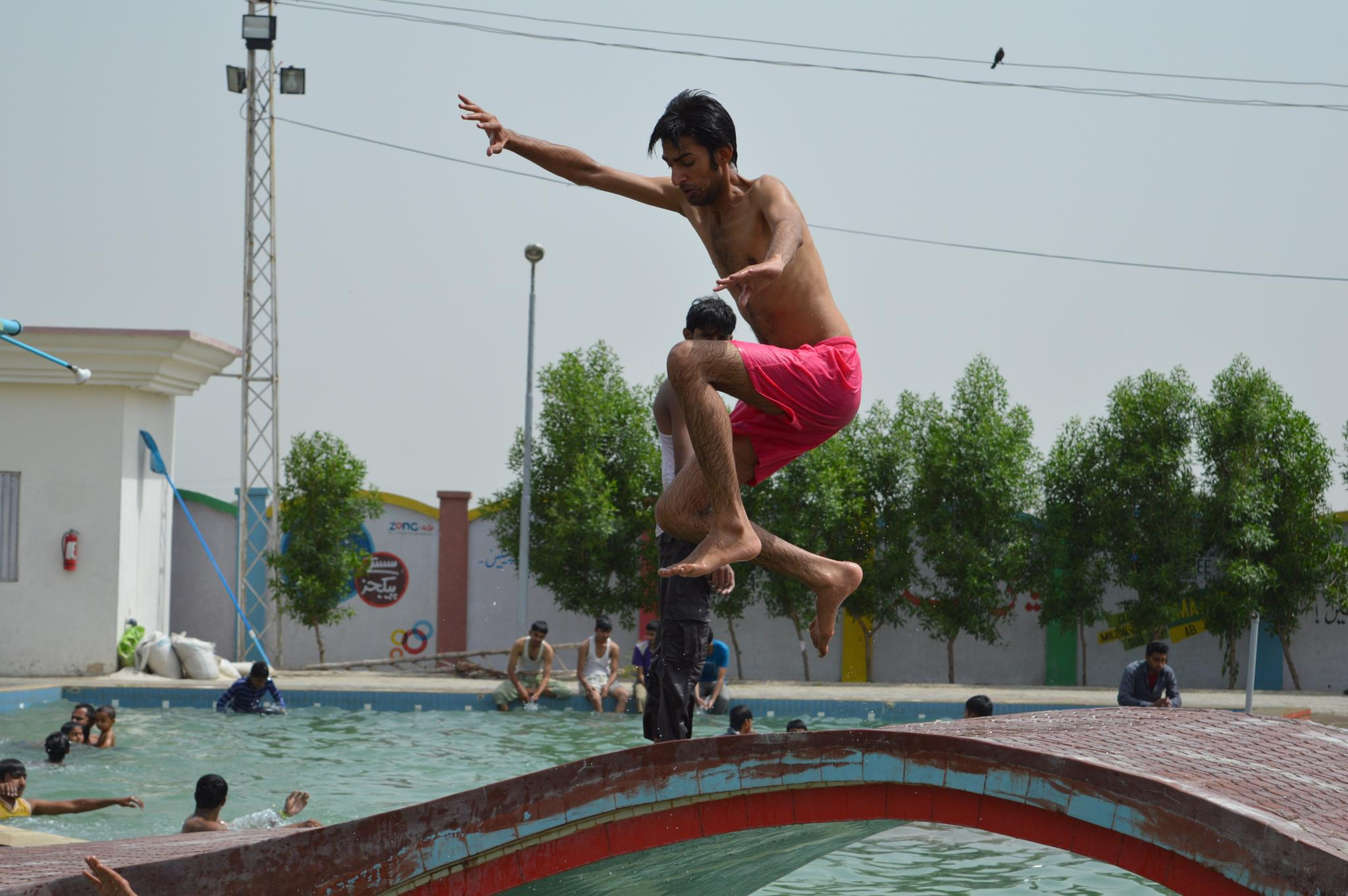 Long Jump by Talha Naseer Hotiana