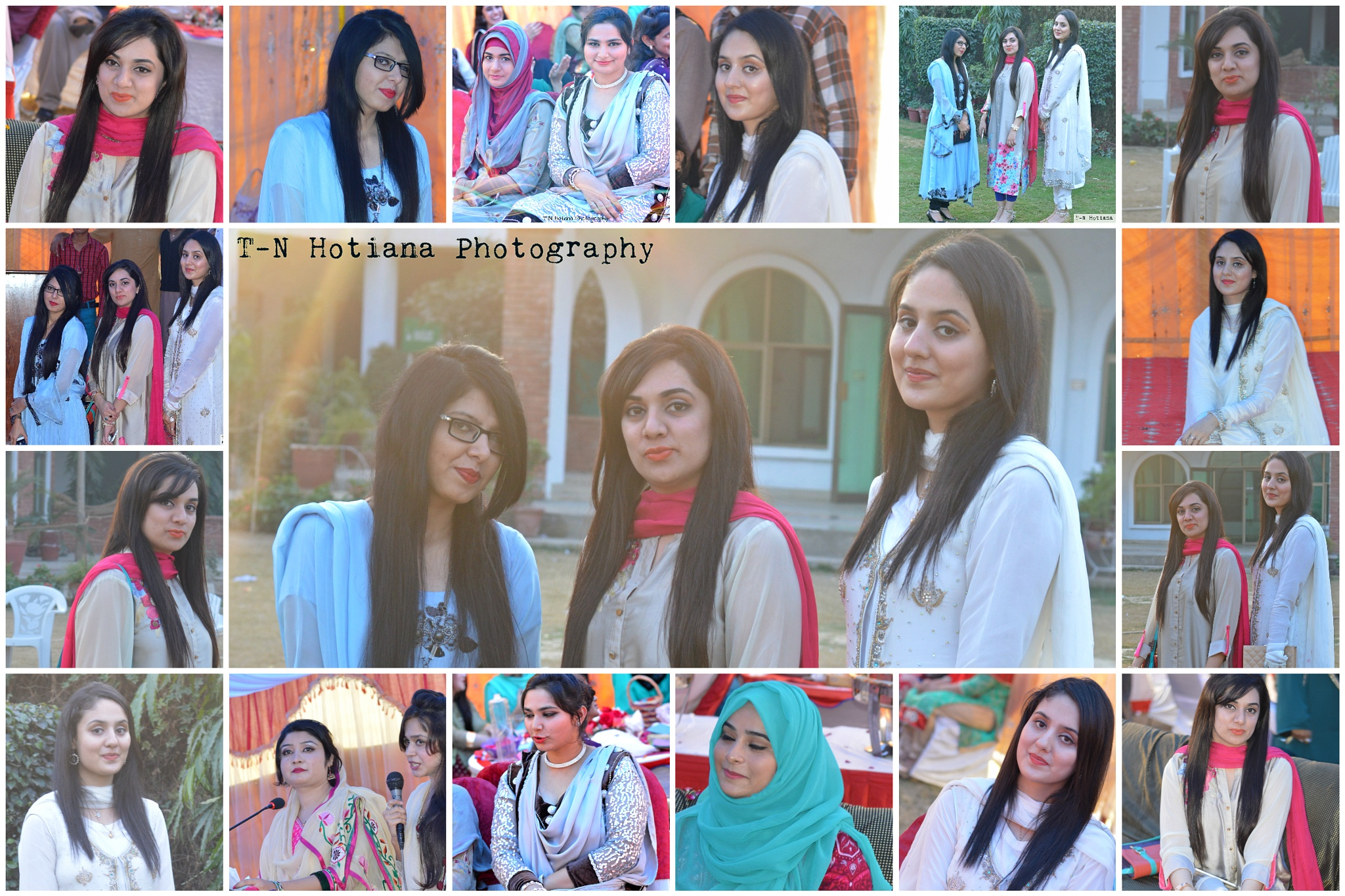 Friens collage by Talha Naseer Hotiana
