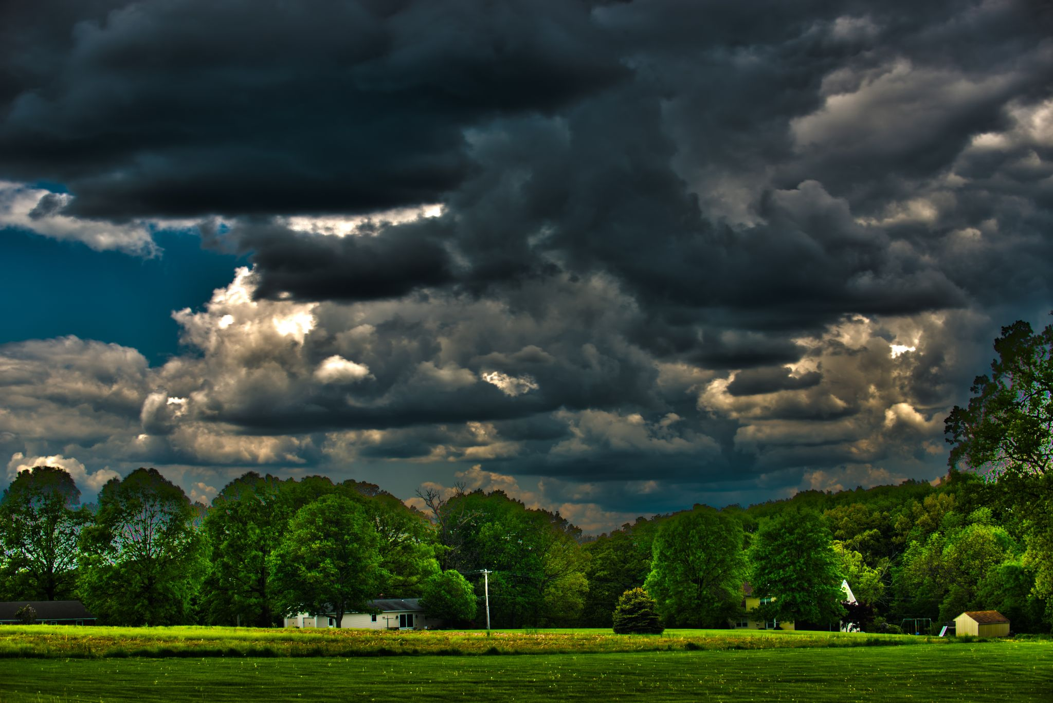 Field-HDR by Second-Glimpse Photography