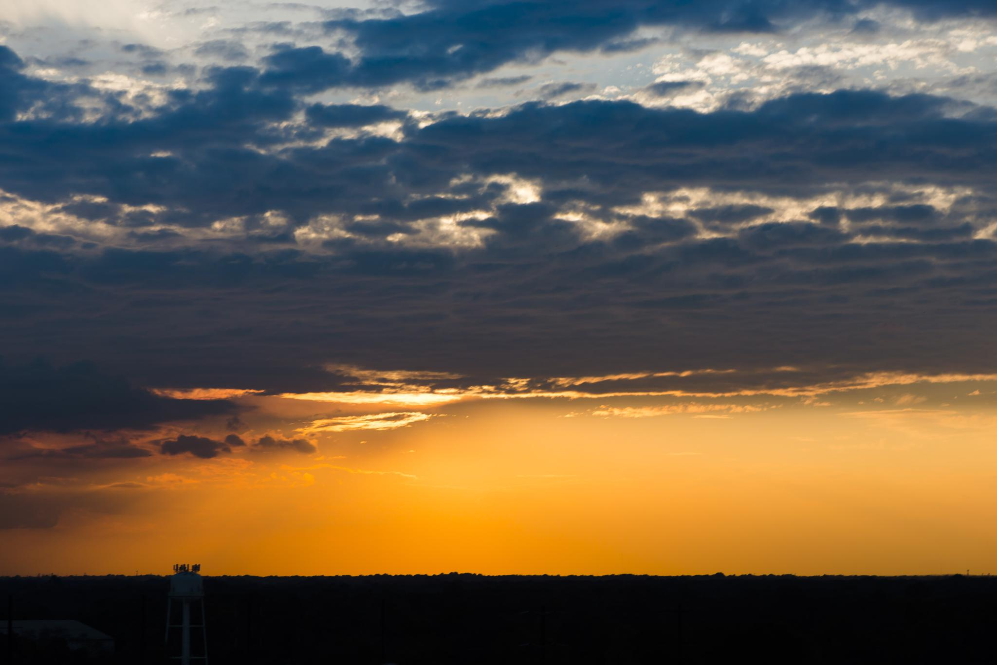 Sunset over Philly by Second-Glimpse Photography