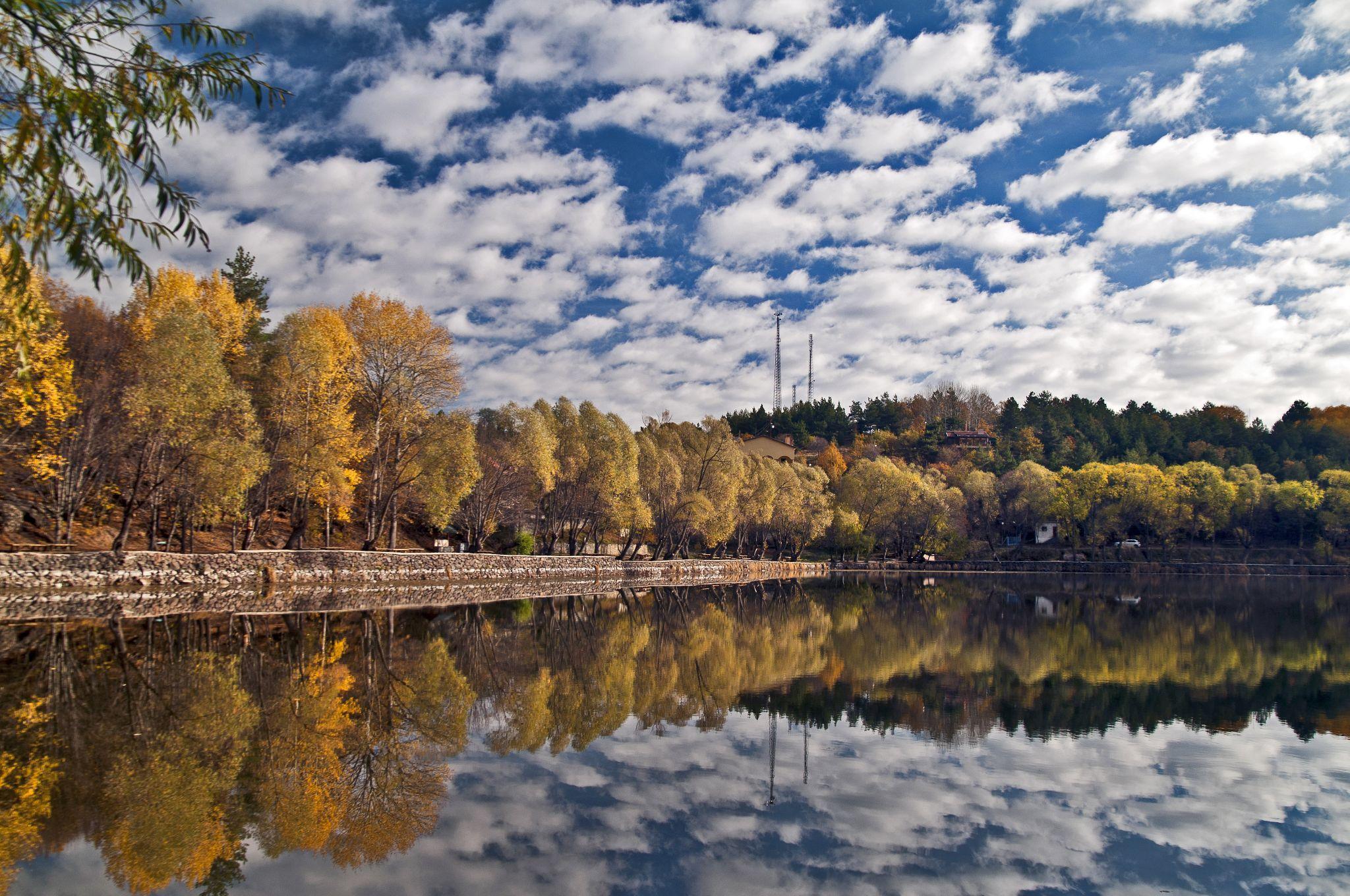 Karagöl lake by mustafaozdemirphotography
