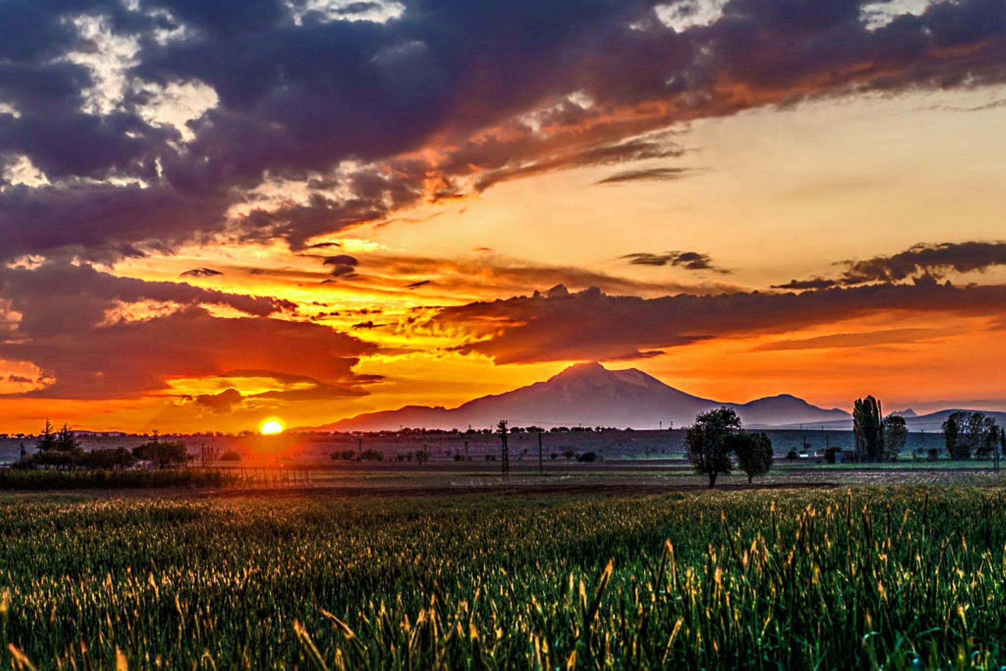 Erciyes mountain by mustafaozdemirphotography