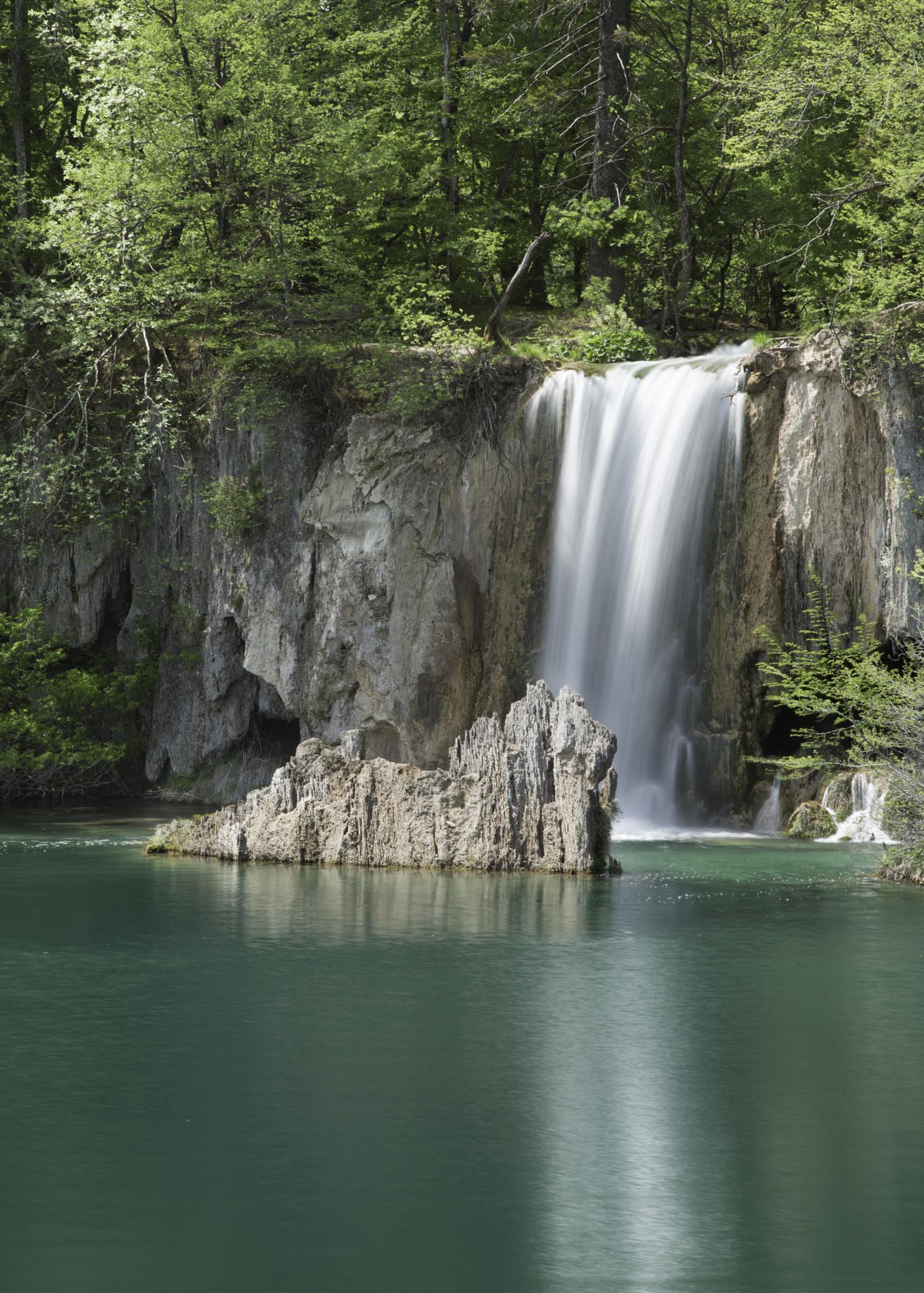 Azure Waterfall by hayleyholloway1969