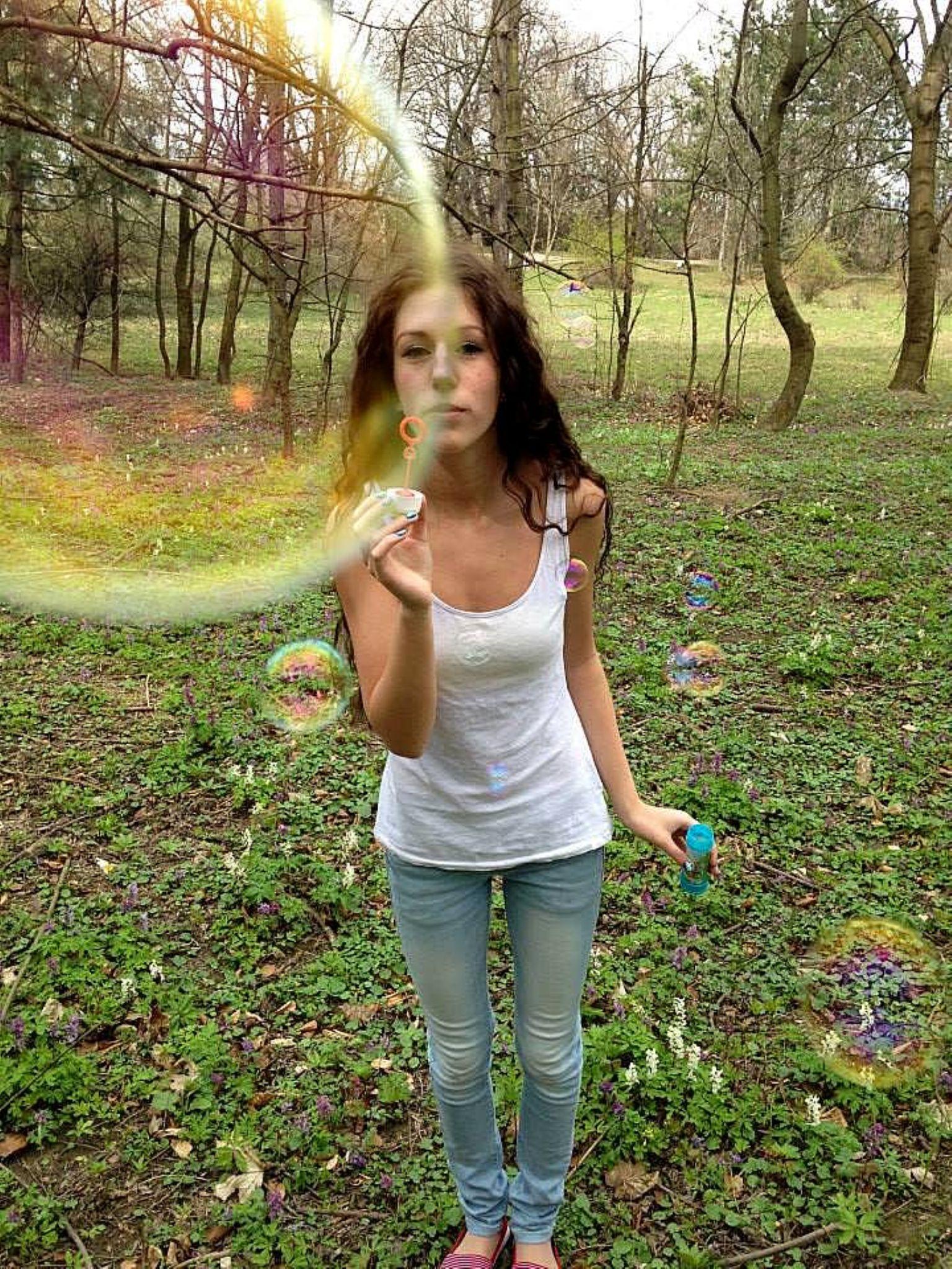 soap bubbles by Georginaphotography