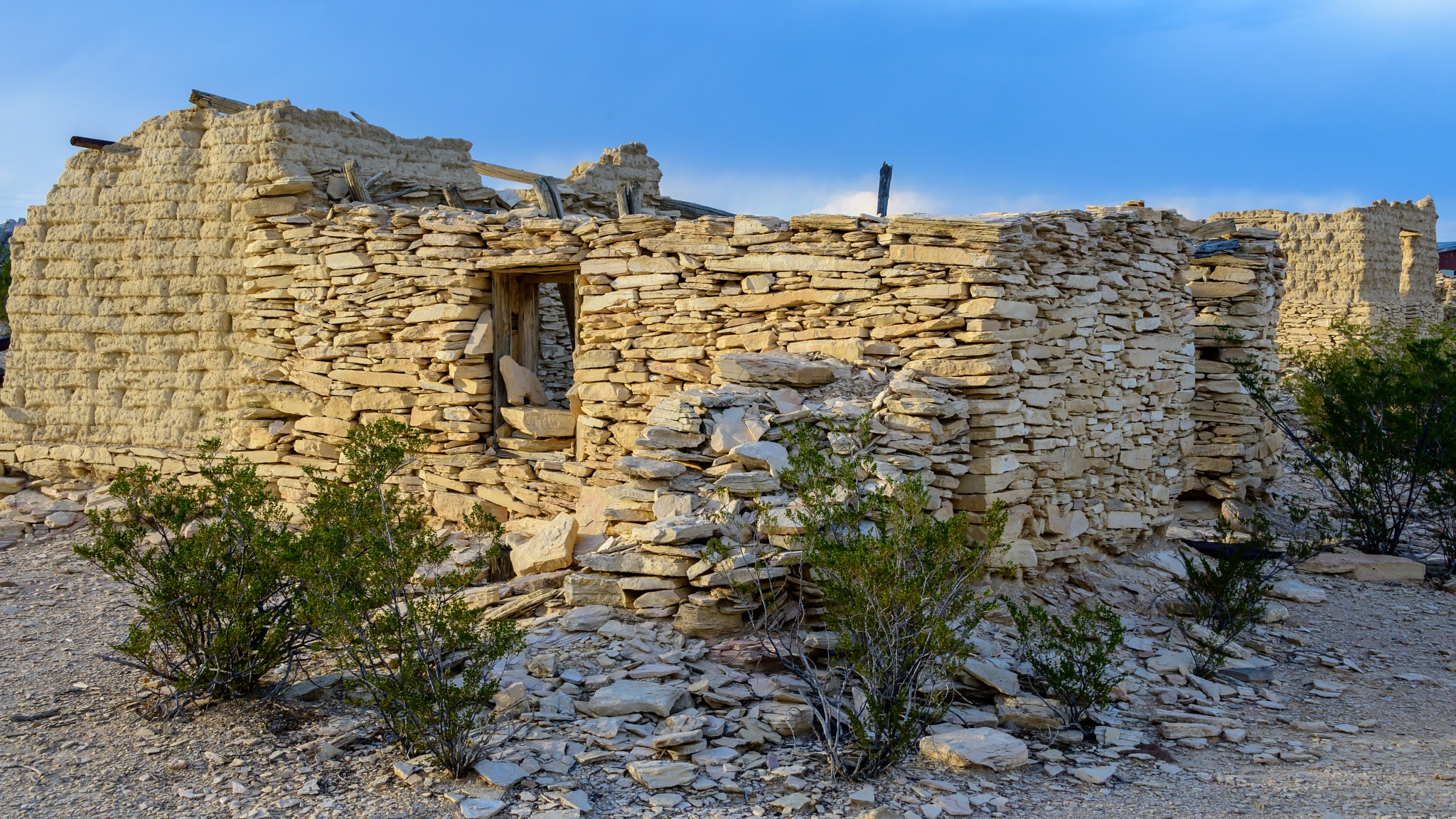 Terlingua Ghost Town Home  by Steve Aicinena